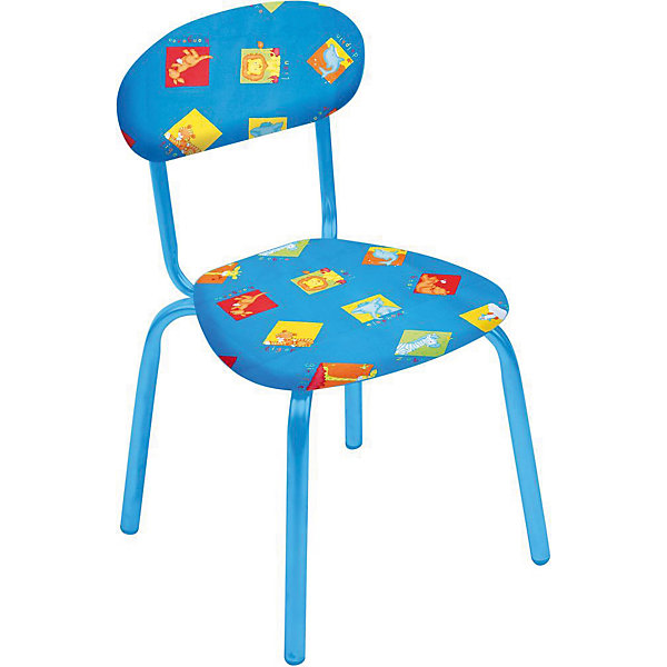 Стул СТУ5. Звери на синем, НикаДетские столы и стулья<br>Стул СТУ5. Звери на синем, Ника.<br><br>Характеристики:<br><br>- Для детей от 1.5 до 3 лет<br>- Высота до сидения: 29 см.<br>- Высота по спинке: 54 см.<br>- Размер сидения: 31х28 см.<br>- Материал: металл окрашенный, фанера, поролон, пластмасса, ткань (замша) или винилискожа<br>- Основной цвет: синий<br>- Мягкое сиденье и спинка<br>- Устойчивая конструкция<br>- Яркие рисунки<br><br>Стул «Звери на синем» разработан специально для детей от полутора до трех лет. Он легкий, устойчивый и занимает немного места. Сидение и спинка стула выполнены из фанеры и обиты поролоном. Каркас металлический. Стул декорирован яркими рисунками, которые понравятся малышам. Стул «Звери на синем» - это отличное решение для игр, творчества и развивающих занятий! Ведь правильно подобранная детская мебель помогает ребенку расти здоровым, и способствует формированию правильной осанки. Изделие производится из качественных сертифицированных материалов, безопасных даже для самых маленьких.<br><br>Стул СТУ5. Звери на синем, Ника можно купить в нашем интернет-магазине.<br><br>Ширина мм: 350<br>Глубина мм: 545<br>Высота мм: 320<br>Вес г: 1900<br>Возраст от месяцев: 180<br>Возраст до месяцев: 36<br>Пол: Унисекс<br>Возраст: Детский<br>SKU: 5253029