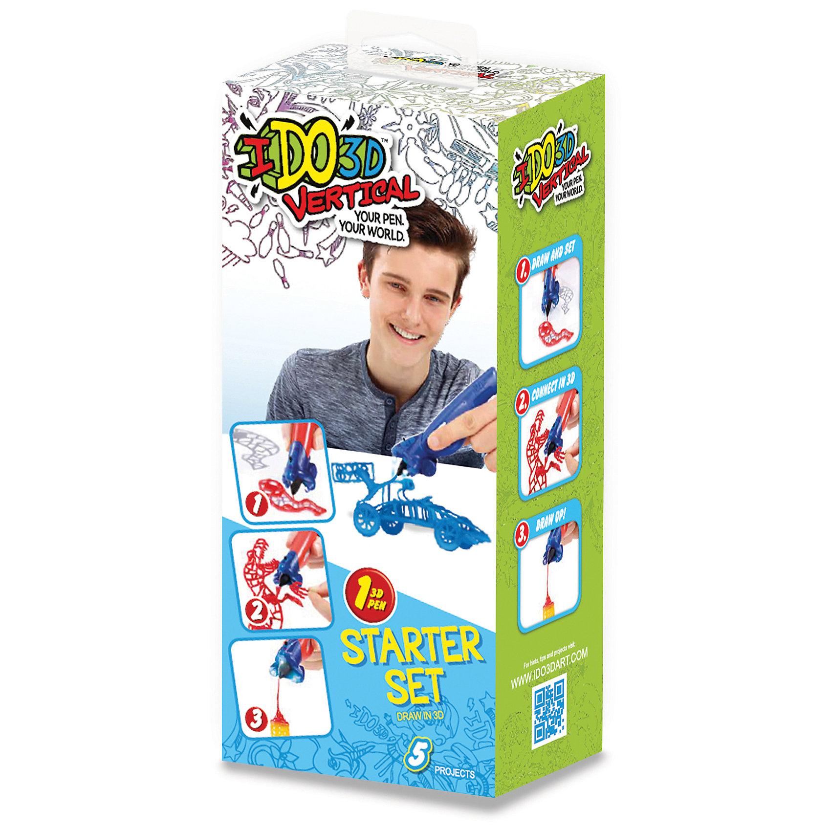 3D ручка Машинки (синий), Вертикаль3D-ручки<br>Характеристики товара:<br><br>• цвет: синий<br>• материал: пластик<br>• вес: 400 г<br>• размер упаковки: 10 х 7 х 24 см<br>• комплектация: цветная 3D ручка, световая насадка для отверждения, трафареты и инструкция<br>• батарейки: А76/(LR44), входят в набор<br>• упаковка: коробка<br>• страна производства: Китай<br><br>3D-рисование - это современный и очень увлекательный вид творчества! С помощью него также можно создать множество полезных и уникальных вещей. Эта 3D-ручка - качественный и удобный предмет, который поможет ребенку выразить свои творческие способности. Объемный рисунок получается из яркого материала, очень красиво смотрится.<br>В наборе есть всё необходимое, чтобы сразу приступить к созданию объемных рисунков! Изделие произведено из качественных и безопасных для ребенка материалов.<br><br>3D ручку Машинки (синий), Вертикаль, можно купить в нашем интернет-магазине.<br><br>Ширина мм: 107<br>Глубина мм: 70<br>Высота мм: 242<br>Вес г: 376<br>Возраст от месяцев: 36<br>Возраст до месяцев: 2147483647<br>Пол: Мужской<br>Возраст: Детский<br>SKU: 5253071