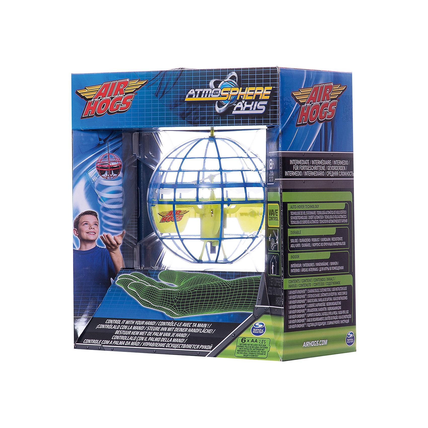 Игрушка НЛО Летающий шар, сине-жёлтый, AIR HOGSХарактеристики:<br><br>• световые эффекты – подсветка шара;<br>• наличие сенсоров;<br>• ударопрочный шар, не разбивается при падении;<br>• для подзарядки шара используется подставка-база;<br>• тип батареек: 6 шт. типа АА;<br>• батарейки в комплект не входят;<br>• комплектация: летающий шар, зарядное устройство;<br>• размер упаковки: 30х23х13 см.<br><br>НЛО Летающий шар сферической формы оснащен сенсорами. Шар можно перебрасывать друг другу, при столкновении с препятствием шар отталкивается от поверхности и меняет траекторию движения. <br><br>Игрушка НЛО Летающий шар, сине-желтый, AIR HOGS можно купить в нашем магазине.<br><br>Ширина мм: 300<br>Глубина мм: 230<br>Высота мм: 130<br>Вес г: 419<br>Возраст от месяцев: 36<br>Возраст до месяцев: 2147483647<br>Пол: Мужской<br>Возраст: Детский<br>SKU: 5255004