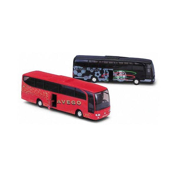 Модель автобуса Mercedes-Benz, красная, WellyМашинки<br>Характеристики:<br><br>• тип транспорта: автобус;<br>• модель автобуса: Mercedes-Benz;<br>• особенности автобуса: открываются двери;<br>• инерционный двигатель;<br>• материал: металл, пластик;<br>• размер упаковки: 23х5х8 см;<br>• вес: 300 г.<br><br>В гараже Welly новое транспортное средство – автобус Mercedes-Benz. Реалистичная модель туристического автобуса с открывающейся дверью позволяет разместить пассажиров и отправиться в путь. В процессе игры развивается фантазия, координация движения, двигательная активность. <br><br>Модель автобуса Mercedes-Benz, красная, Welly можно купить в нашем магазине.<br>Ширина мм: 50; Глубина мм: 80; Высота мм: 230; Вес г: 283; Возраст от месяцев: 36; Возраст до месяцев: 2147483647; Пол: Мужской; Возраст: Детский; SKU: 5255006;