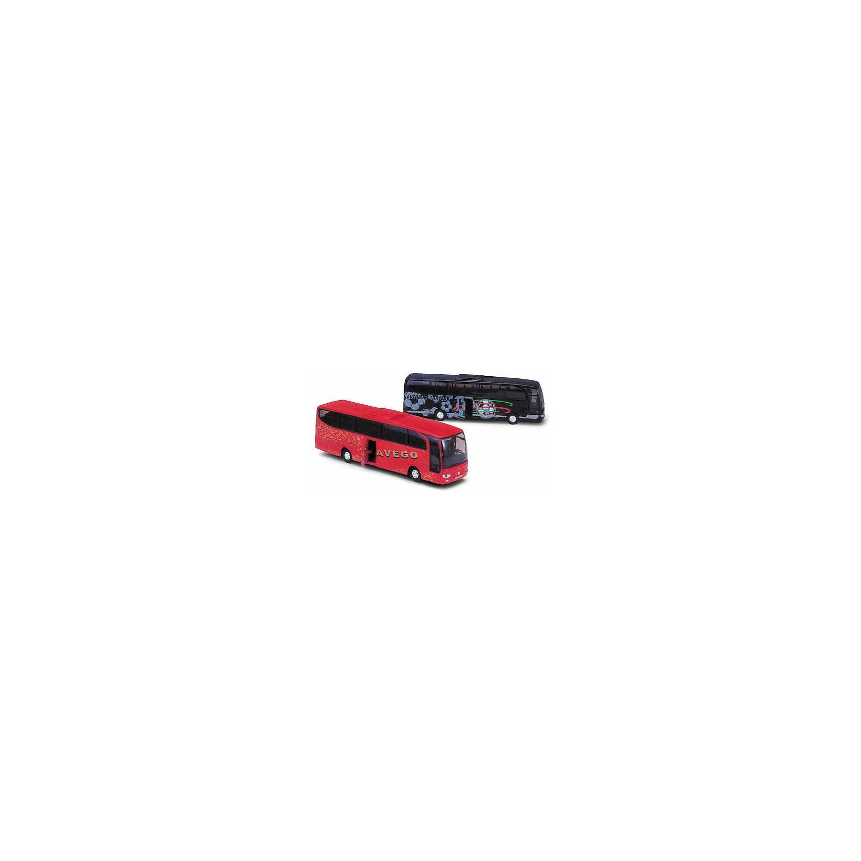 Модель автобуса Mercedes-Benz, красная, WellyМашинки<br>Характеристики:<br><br>• тип транспорта: автобус;<br>• модель автобуса: Mercedes-Benz;<br>• особенности автобуса: открываются двери;<br>• инерционный двигатель;<br>• материал: металл, пластик;<br>• размер упаковки: 23х5х8 см;<br>• вес: 300 г.<br><br>В гараже Welly новое транспортное средство – автобус Mercedes-Benz. Реалистичная модель туристического автобуса с открывающейся дверью позволяет разместить пассажиров и отправиться в путь. В процессе игры развивается фантазия, координация движения, двигательная активность. <br><br>Модель автобуса Mercedes-Benz, красная, Welly можно купить в нашем магазине.<br><br>Ширина мм: 50<br>Глубина мм: 80<br>Высота мм: 230<br>Вес г: 283<br>Возраст от месяцев: 36<br>Возраст до месяцев: 2147483647<br>Пол: Мужской<br>Возраст: Детский<br>SKU: 5255006