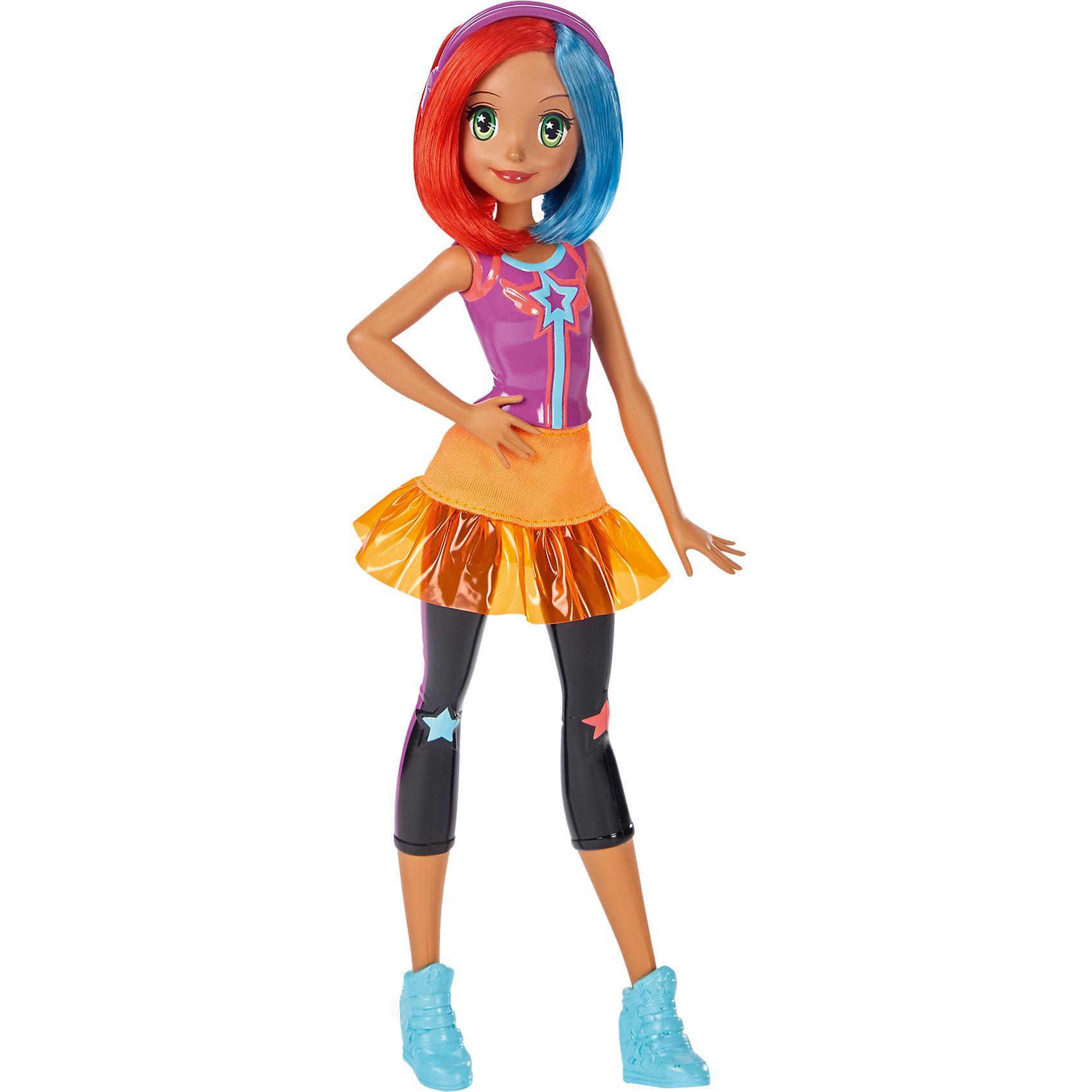 Подружка Barbie из серии «Barbie и виртуальный мир» Multi-ColorBarbie<br>Характеристики товара:<br><br>• комплектация: кукла, аксессуары<br>• материал: пластик, текстиль<br>• серия: Barbie и виртуальный мир<br>• руки, ноги гнутся<br>• высота куклы: 25,5 см<br>• возраст: от трех лет<br>• размер упаковки: 32х12х6 см<br>• вес: 0,3 кг<br>• страна бренда: США<br><br>Барби может разной! Такой современный образ изящной куклы порадует маленьких любительниц мультфильмов про приключения Barbie. Костюм героини мультфильма дополняет обувь и аксессуары. Руки и ноги гнутся! Барби из серии «Barbie и виртуальный мир» станет великолепным подарком для девочек.<br><br>Таки куклы помогают девочкам отработать сценарии поведения в обществе, развить воображение и мелкую моторику. Барби от бренда Mattel не перестает быть популярной! <br><br>Куклу Подружка Barbie из серии «Barbie и виртуальный мир» Multi-Color от компании Mattel можно купить в нашем интернет-магазине.<br><br>Ширина мм: 324<br>Глубина мм: 116<br>Высота мм: 50<br>Вес г: 137<br>Возраст от месяцев: 36<br>Возраст до месяцев: 72<br>Пол: Женский<br>Возраст: Детский<br>SKU: 5257088