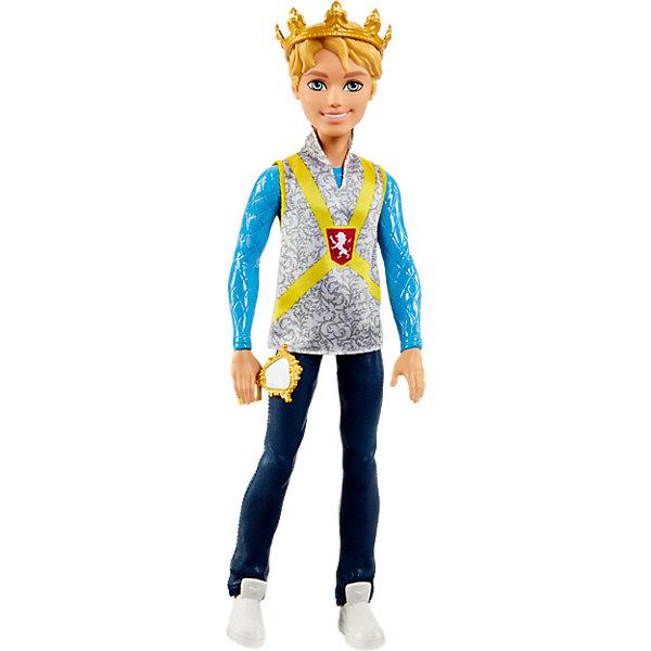Кукла Дэринг Чарминг, Ever After HighКуклы<br>Кукла Дэринг Чарминг, Ever After High (Эвер Афтер Хай)<br>Характеристики:<br><br>• у Дэринга Чарминга есть всё необходимое, чтобы полюбоваться собой в любой момент<br>• материал: пластик<br>• в комплекте: кукла, зеркало, корона<br>• размер упаковки: 10х6х33 см<br>• вес: 315 грамм<br><br>Красавец Деринг Чарминг не упустит случая полюбоваться собой. Для этого у него всегда под рукой аккуратное зеркальце в золотой оправе. Чарминг одет в стильную рубашку с изображением королевского герба, блестящие джинсы и белые кеды. Голова его украшена золотой короной, отлично дополняющей образ всеобщего любимца. Создайте свой сюжет для игры или вспомните и воплотите в жизнь историю из мультфильма Ever After High!<br><br>Куклу Дэринг Чарминг, Ever After High (Эвер Афтер Хай) вы можете купить в нашем интернет-магазине.<br>Ширина мм: 335; Глубина мм: 106; Высота мм: 60; Вес г: 268; Возраст от месяцев: 72; Возраст до месяцев: 120; Пол: Женский; Возраст: Детский; SKU: 5257098;