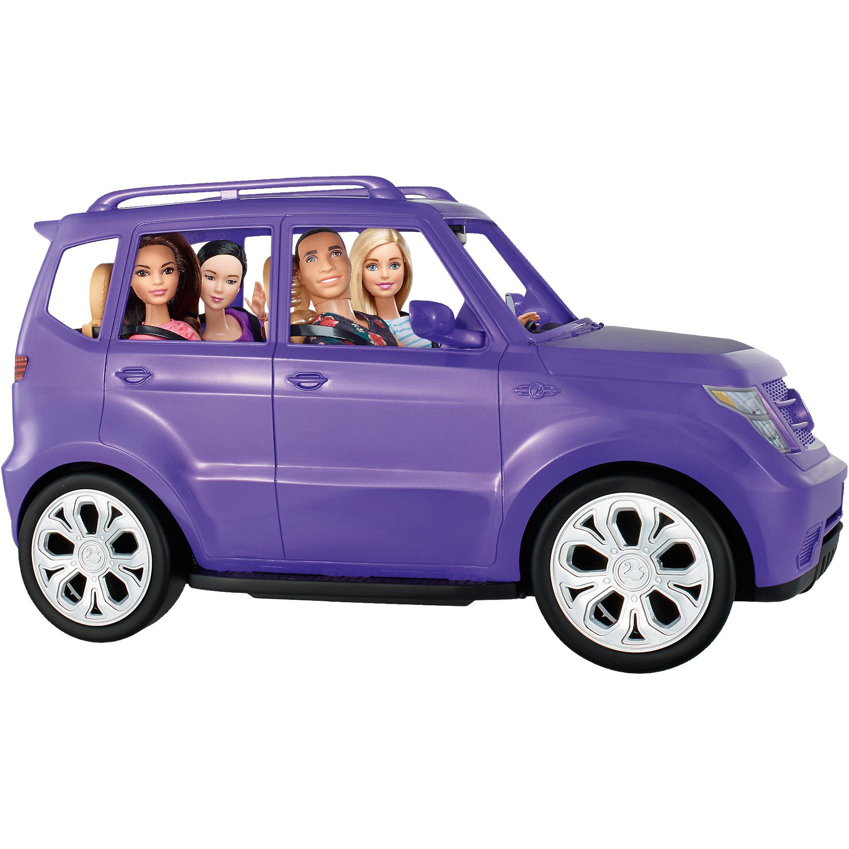 Внедорожник BarbieПопулярные игрушки<br><br><br>Ширина мм: 481<br>Глубина мм: 272<br>Высота мм: 228<br>Вес г: 1593<br>Возраст от месяцев: 36<br>Возраст до месяцев: 72<br>Пол: Женский<br>Возраст: Детский<br>SKU: 5257121