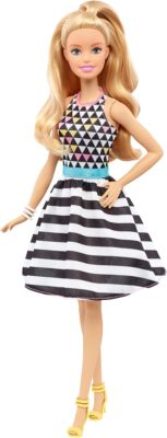 Mattel Кукла из серии Игра с модой Power Print, Barbie