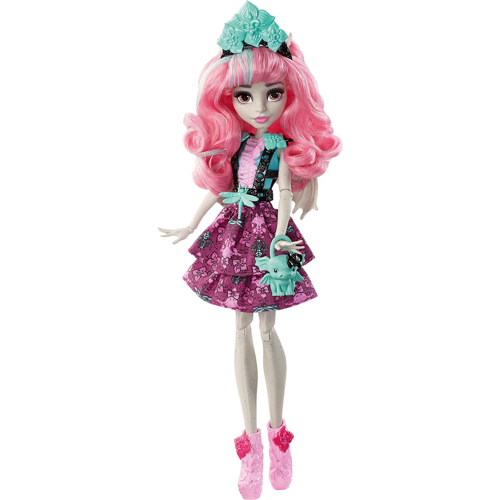 Монстряшка с длинными волосами Рошель Гойл, Monster HighКуклы-модели<br>Характеристики товара:<br><br>• возраст от 6 лет;<br>• материал: пластик;<br>• высота куклы 28 см;<br>• размер упаковки 33х16х6 см;<br>• страна производитель: Китай.<br><br>Кукла Рошель Гойл «Вечеринка монстров» Monster High создана по мотивам известного мультфильма Monster High. Рошель — дочка горгульи, поэтому у нее есть ушки и крылышки. Одета Рошель в розовое платье и сапожки, а дополняют образ сумочка и ободок на голове. В наборе предусмотрены аксессуары для создания неповторимого образа, которыми можно украсить волосы куклы или наряд.<br><br>Куклу Рошель Гойл «Вечеринка монстров» Monster High можно приобрести в нашем интернет-магазине.<br><br>Ширина мм: 326<br>Глубина мм: 152<br>Высота мм: 57<br>Вес г: 203<br>Возраст от месяцев: 72<br>Возраст до месяцев: 120<br>Пол: Женский<br>Возраст: Детский<br>SKU: 5257142