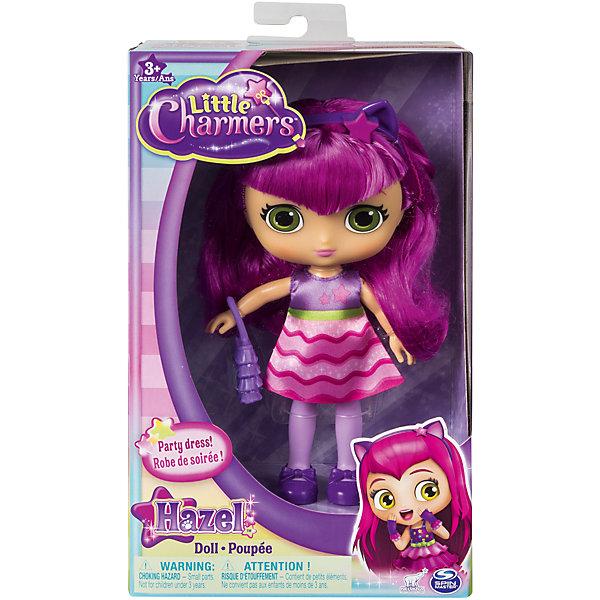 Кукла Хейзел, Маленькие волшебницы, Spin Master, 20 смКуклы<br>Характеристики:<br><br>• серия: Маленькие волшебницы;<br>• аксессуары: ободок, сумочка;<br>• материал: пластик, нейлон;<br>• высота куклы: 20 см;<br>• размер упаковки: 25х15х7,5 см.<br><br>Кукла Хейзел одета в нарядное платьице, обута в сапожки. Ее длинные волосы можно расчесывать, создавая куколке различные прически. В процессе игры развивается фантазия, воображение, речь. <br><br>Кукла Хейзел, Маленькие волшебницы, Spin Master, 20 см можно купить в нашем магазине.<br>Ширина мм: 155; Глубина мм: 255; Высота мм: 75; Вес г: 353; Возраст от месяцев: 36; Возраст до месяцев: 2147483647; Пол: Женский; Возраст: Детский; SKU: 5257336;