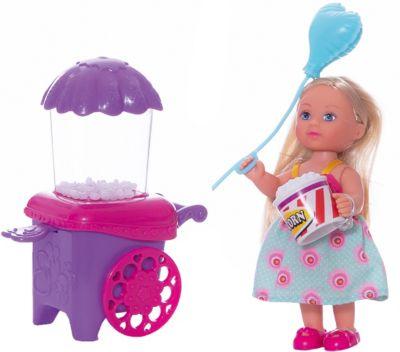 Кукла Еви делает попкорн , 12 см, Simba