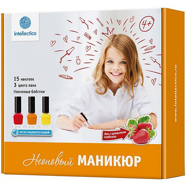 Купить Малый набор Неоновый маникюр, Intellectico, Россия, Женский