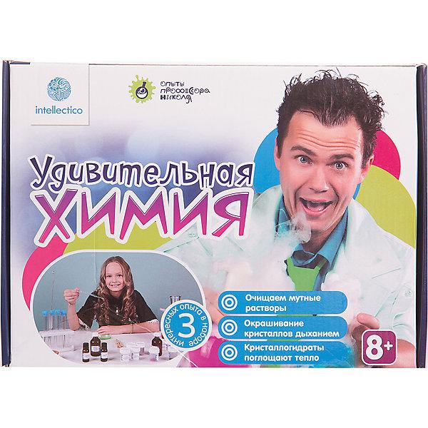 Купить Набор для опытов с профессором Николя Удивительная химия, Intellectico, Россия, Унисекс