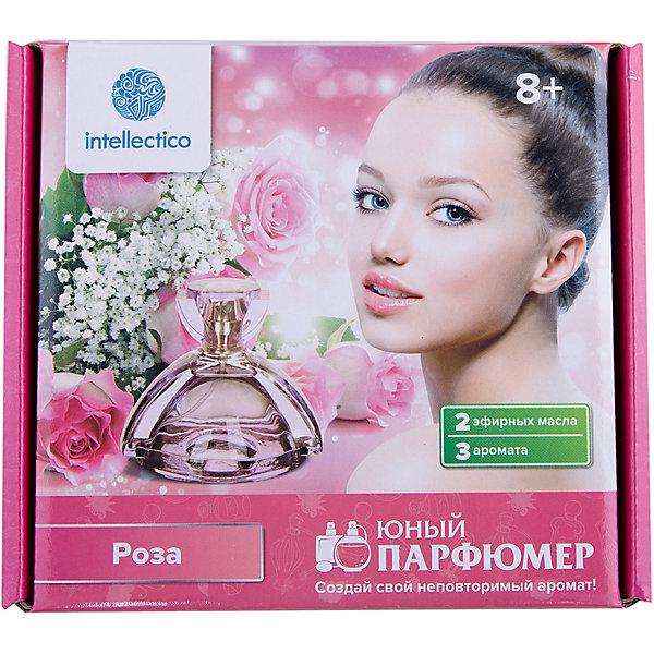 Набор для творчества Юный парфюмер мини РозаНаборы для создания парфюмерии<br>Как повлияло развитие науки на парфюмерию? Где делают флаконы для самых известных духов? Кто такой Поль Пуаре и как он назвал своё первое парфюмерное творение? Что за запах Cuir и чем он отличается от всех привычных запахов? В чем отличие промышленной парфюмерии от парфюмерии, какой он была до XXI века? <br> Набор Юный парфюмер Современные ароматы, от производителя детских развивающих наборов INTELLECTICO, откроет нечто новое в удивительном мире ароматов. В наборе есть красочная интересная инструкция, в которой описано не только то, как правильно создать духи и описана технология получения ароматов, но и то, откуда появились духи, их историю развития и интересные задания, основанные на историческом факте. <br> Особенности набора: <br> <br> В наборе есть основы для создания 4-х видов духов. <br> Флаконы для того чтобы можно было в дальнейшем пользоваться духами. <br> Все эфирные масла тщательно подобраны парфюмером, который выбрал для наборов наиболее интересные ароматы и проконтролировал качество эфирных масел. <br> С этим набором ребёнок может не только поиграть и провести эксперименты с различными видами парфюма, но также узнать много интересного из истории изобретения духов, сможет создать духи для себя или для мамы в подарок и, возможно, найти своё призвание. <br> <br> <br> Набор способствует развитию познавательной активности, мелкой моторики, органов чувств, интереса к науке. <br> Возраст: 10+<br><br>Ширина мм: 175<br>Глубина мм: 155<br>Высота мм: 50<br>Вес г: 260<br>Возраст от месяцев: 48<br>Возраст до месяцев: 180<br>Пол: Женский<br>Возраст: Детский<br>SKU: 5263184