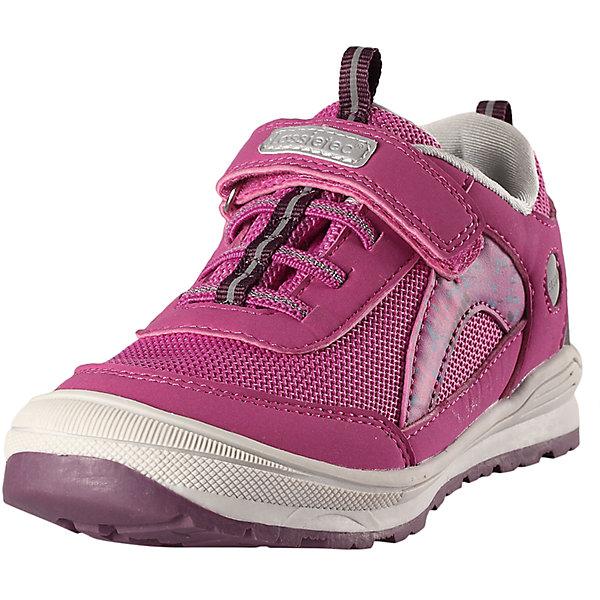 Кроссовки для девочки LASSIEКроссовки<br>Характеристики товара:<br><br>• цвет: розовый<br>• состав: верх - ПУ/ПЭ, подошва - резина термопластичная<br>• застежка: липучка, шнуровка<br>• мягкая текстильная подкладка<br>• усиленные пятка и носок<br>• съемные стельки<br>• светоотражающие детали<br>• страна производства: Китай<br>• страна бренда: Финляндия<br>• коллекция: весна-лето 2017<br><br>Демисезонная обувь может быть модной и комфортной одновременно! Удобные стильные кроссовки помогут обеспечить ребенку комфорт и дополнить наряд. Они отлично смотрятся с различной одеждой. Кроссовки удобно сидят на ноге и аккуратно смотрятся. Легко чистятся и долго служат. Продуманная конструкция разрабатывалась специально для детей.<br><br>Обувь и одежда от финского бренда LASSIE пользуются популярностью во многих странах. Они стильные, качественные и удобные. Для производства продукции используются только безопасные, проверенные материалы и фурнитура. Порадуйте ребенка модными и красивыми вещами от Lassie®! <br><br>Кроссовки для девочки от финского бренда LASSIE можно купить в нашем интернет-магазине.<br>Ширина мм: 262; Глубина мм: 176; Высота мм: 97; Вес г: 427; Цвет: розовый; Возраст от месяцев: 72; Возраст до месяцев: 84; Пол: Женский; Возраст: Детский; Размер: 30,29,27,26,25,24,31,33,28,35,34,32; SKU: 5263344;