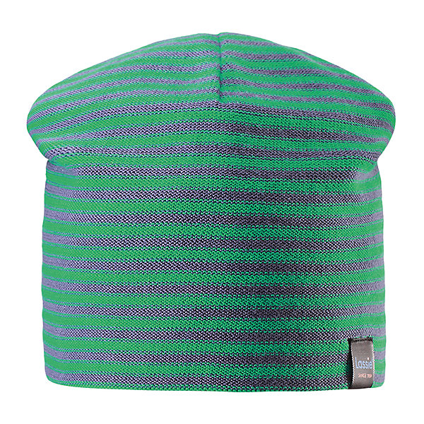 Шапка LASSIEШапки и шарфы<br>Характеристики товара:<br><br>• цвет: зеленый<br>• состав: 100% хлопок<br>• температурный режим: от +15°до +5°С<br>• эластичный хлопковый трикотаж<br>• мягкая сплошная подкладка: смесь хлопка jersey<br>• узор из цветных полос<br>• декоративная эмблема<br>• комфортная посадка<br>• страна производства: Китай<br>• страна бренда: Финляндия<br>• коллекция: весна-лето 2017<br><br>Детский головной убор может быть модным и удобным одновременно! Стильная шапка поможет обеспечить ребенку комфорт и дополнить наряд. Она отлично смотрится с различной одеждой. Шапка удобно сидит и аккуратно выглядит. Проста в уходе, долго служит. Продуманный крой разрабатывался специально для детей.<br><br>Обувь и одежда от финского бренда LASSIE by Reima пользуются популярностью во многих странах. Они стильные, качественные и удобные. Для производства продукции используются только безопасные, проверенные материалы и фурнитура. Порадуйте ребенка модными и красивыми вещами от Lassie®! <br><br>Шапку от финского бренда LASSIE by Reima можно купить в нашем интернет-магазине.<br>Ширина мм: 89; Глубина мм: 117; Высота мм: 44; Вес г: 155; Цвет: зеленый; Возраст от месяцев: 12; Возраст до месяцев: 18; Пол: Унисекс; Возраст: Детский; Размер: 54-56,50-52,46-48; SKU: 5264103;