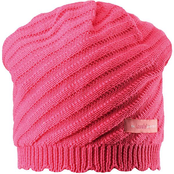 Шапка для девочки LASSIEШапки и шарфы<br>Характеристики товара:<br><br>• цвет: розовый<br>• температурный режим: от +15°до +5°С<br>• состав: 100% хлопок<br>• эластичный материал<br>• мягкая сплошная подкладка: смесь хлопка jersey<br>• ветронепроницаемые вставки в области ушей<br>• декоративная эмблема<br>• комфортная посадка<br>• страна производства: Китай<br>• страна бренда: Финляндия<br>• коллекция: весна-лето 2017<br><br>Детский головной убор может быть модным и удобным одновременно! Стильная шапка поможет обеспечить ребенку комфорт и дополнить наряд. Она отлично смотрится с различной одеждой. Шапка удобно сидит и аккуратно выглядит. Проста в уходе, долго служит. Продуманный крой разрабатывался специально для детей.<br><br>Обувь и одежда от финского бренда LASSIE пользуются популярностью во многих странах. Они стильные, качественные и удобные. Для производства продукции используются только безопасные, проверенные материалы и фурнитура. Порадуйте ребенка модными и красивыми вещами от Lassie®! <br><br>Шапку для девочки от финского бренда LASSIE можно купить в нашем интернет-магазине.<br>Ширина мм: 89; Глубина мм: 117; Высота мм: 44; Вес г: 155; Цвет: розовый; Возраст от месяцев: 12; Возраст до месяцев: 18; Пол: Женский; Возраст: Детский; Размер: 46-48,54-56,50-52; SKU: 5264203;