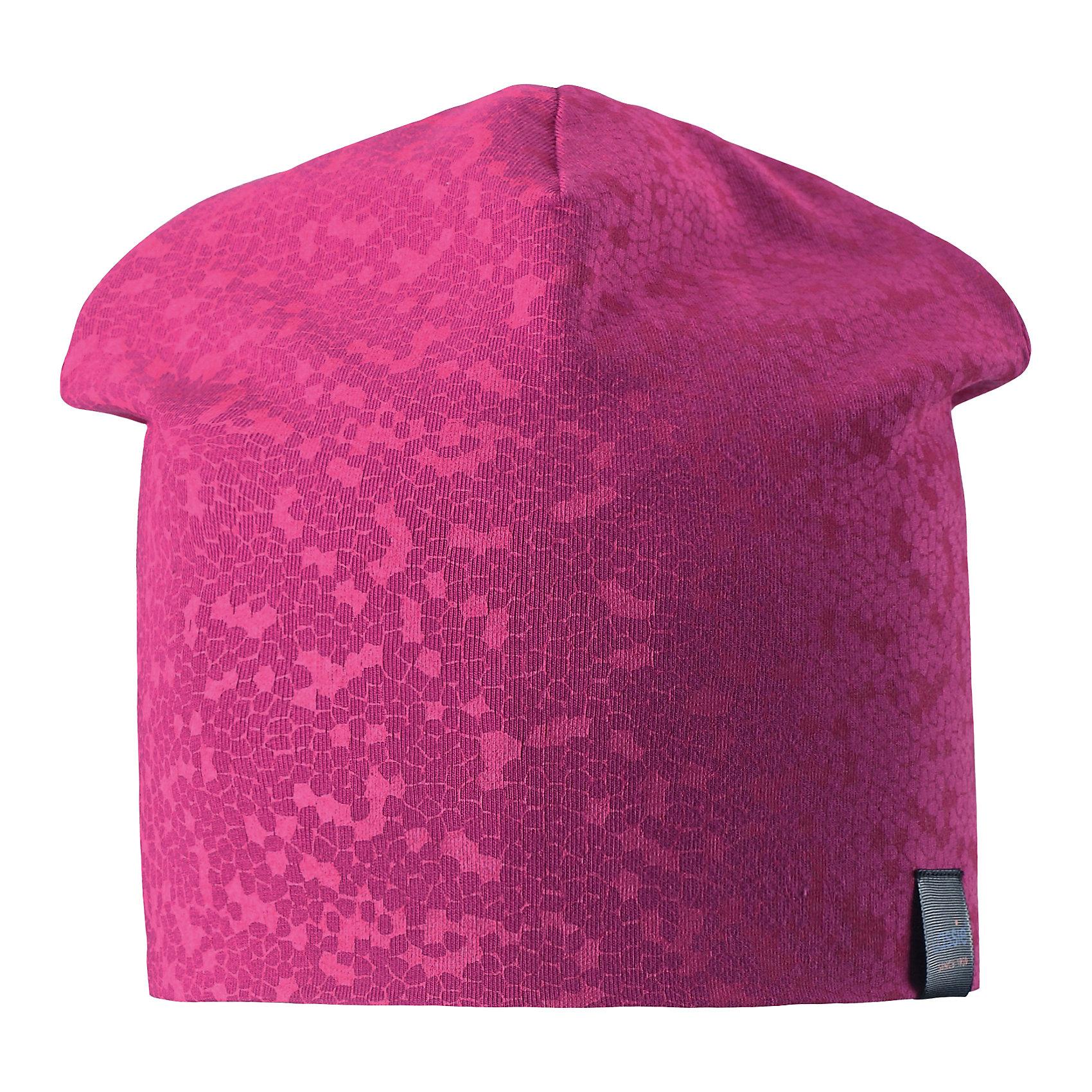 Шапка LASSIEШапки и шарфы<br>Характеристики товара:<br><br>• цвет: розовый<br>• температурный режим: от +15°до +5°С<br>• состав: 97% хлопок, 3% эластан<br>• эластичный материал<br>• мягкая сплошная подкладка: смесь хлопка jersey<br>• ветронепроницаемые вставки в области ушей<br>• принт<br>• комфортная посадка<br>• страна производства: Китай<br>• страна бренда: Финляндия<br>• коллекция: весна-лето 2017<br><br>Детский головной убор может быть модным и удобным одновременно! Стильная шапка поможет обеспечить ребенку комфорт и дополнить наряд. Она отлично смотрится с различной одеждой. Шапка удобно сидит и аккуратно выглядит. Проста в уходе, долго служит. Продуманный крой разрабатывался специально для детей.<br><br>Обувь и одежда от финского бренда LASSIE пользуются популярностью во многих странах. Они стильные, качественные и удобные. Для производства продукции используются только безопасные, проверенные материалы и фурнитура. Порадуйте ребенка модными и красивыми вещами от Lassie®! <br><br>Шапку от финского бренда LASSIE можно купить в нашем интернет-магазине.<br><br>Ширина мм: 89<br>Глубина мм: 117<br>Высота мм: 44<br>Вес г: 155<br>Цвет: розовый<br>Возраст от месяцев: 72<br>Возраст до месяцев: 120<br>Пол: Унисекс<br>Возраст: Детский<br>Размер: 54-56,46-48,50-52<br>SKU: 5264227