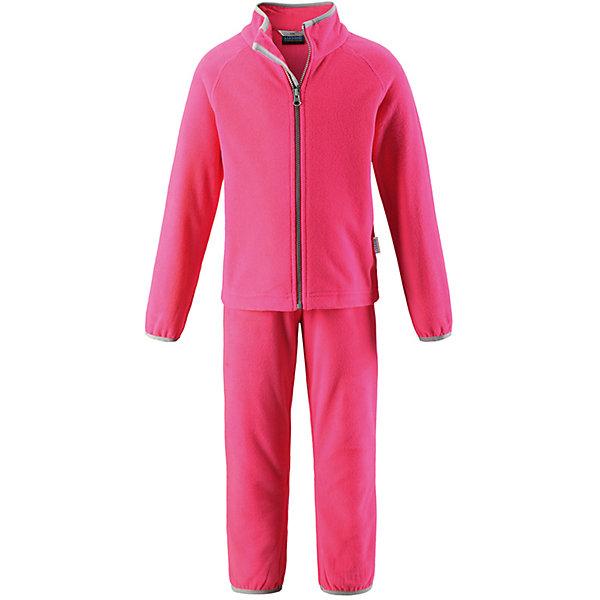 Комплект LASSIEФлис и термобелье<br>Характеристики товара:<br><br>• цвет: розовый<br>• состав: 100% полиэстер<br>• комплектация: кофта, штаны<br>• мягкий флис<br>• «дышащий» теплый и быстросохнущий материал<br>• эластичный воротник<br>• манжеты на рукавах и брючинах<br>• молния по всей длине с защитой подбородка<br>• эластичная талия<br>• комфортная посадка<br>• страна производства: Китай<br>• страна бренда: Финляндия<br>• коллекция: весна-лето 2017<br><br>Флисовый комплект из кофты и штанов поможет обеспечить ребенку комфорт и тепло. Предметы отлично смотрятся с различной одеждой. Комплект удобно сидит и модно выглядит. Материал - теплый и мягкий. Продуманный крой разрабатывался специально для детей.<br><br>Обувь и одежда от финского бренда LASSIE пользуются популярностью во многих странах. Они стильные, качественные и удобные. Для производства продукции используются только безопасные, проверенные материалы и фурнитура. Порадуйте ребенка модными и красивыми вещами от Lassie®! <br><br>Комплект от финского бренда LASSIE можно купить в нашем интернет-магазине.<br><br>Ширина мм: 190<br>Глубина мм: 74<br>Высота мм: 229<br>Вес г: 236<br>Цвет: розовый<br>Возраст от месяцев: 108<br>Возраст до месяцев: 120<br>Пол: Женский<br>Возраст: Детский<br>Размер: 128,98,104,116,122,134,140,110,92<br>SKU: 5264295