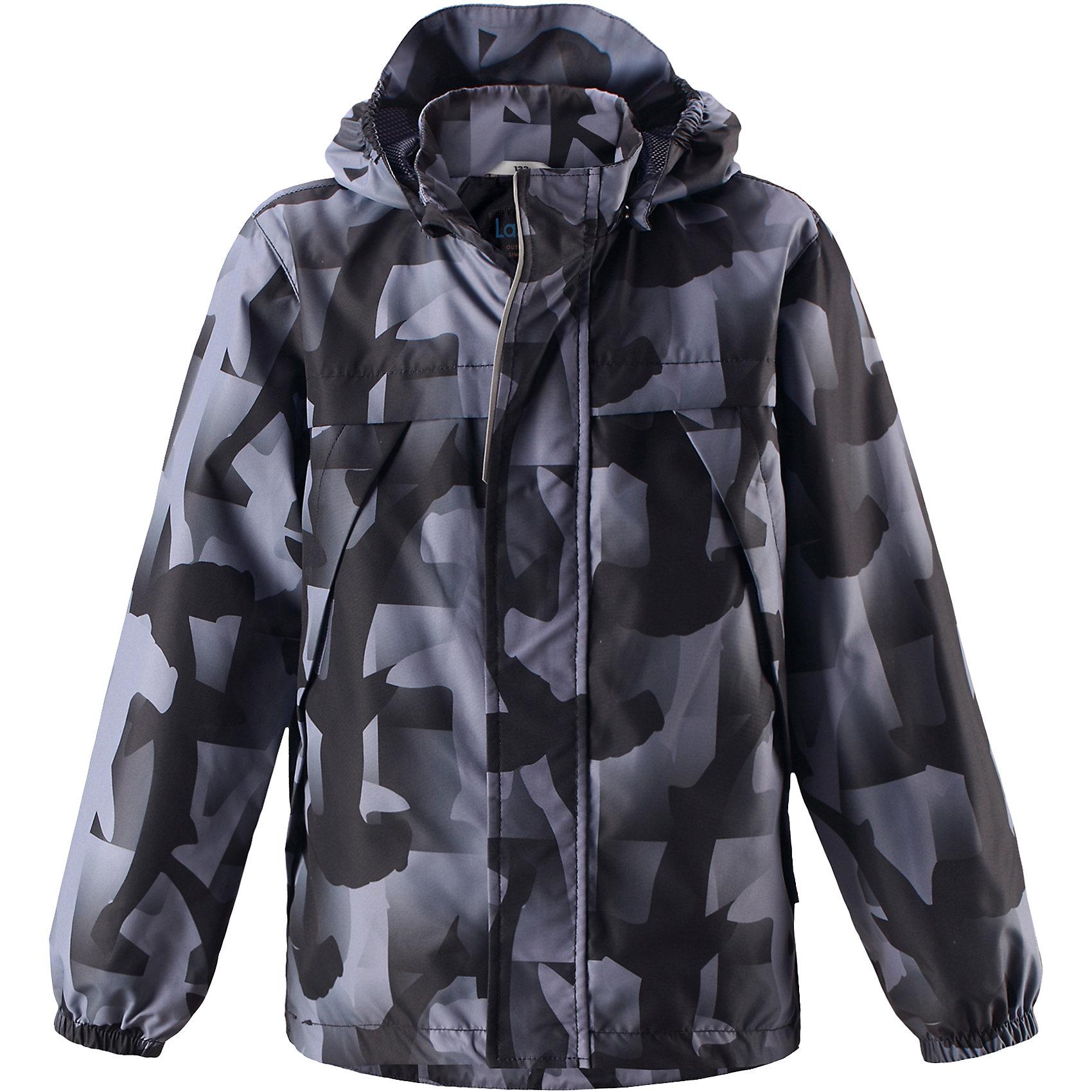 Куртка для мальчика LASSIEОдежда<br>Характеристики товара:<br><br>Легкая и удобная куртка для мальчиков на весенне-осенний период. Она изготовлена из водоотталкивающего и ветронепроницаемого, но при этом дышащего материала. Куртка снабжена дышащей и приятной на ощупь сетчатой подкладкой, которая облегчает одевание. Съемный капюшон обеспечивает защиту от холодного ветра, а также безопасен во время игр на свежем воздухе! Благодаря регулируемому подолу эта модель свободного покроя отлично сидит по фигуре. Снабжена множеством продуманных элементов, например, передними карманами и эластичными манжетами. Выбирайте свой вариант из новых восхитительных морских рисунков или однотонных расцветок. <br><br>Состав: 100% Полиэстер, полиуретановое покрытие<br><br>Уход:<br>Стирать по отдельности, вывернув наизнанку.Застегнуть молнии и липучки.Соблюдать температуру в соответствии с руководством по уходу.Стирать моющим средством, не содержащим отбеливающие вещества.Полоскать без специального средства.Сушение в сушильном шкафу разрешено при низкой температуре.<br><br>Ширина мм: 356<br>Глубина мм: 10<br>Высота мм: 245<br>Вес г: 519<br>Цвет: черный<br>Возраст от месяцев: 108<br>Возраст до месяцев: 120<br>Пол: Мужской<br>Возраст: Детский<br>Размер: 128,110,116,98,134,104,92,140,122<br>SKU: 5264475