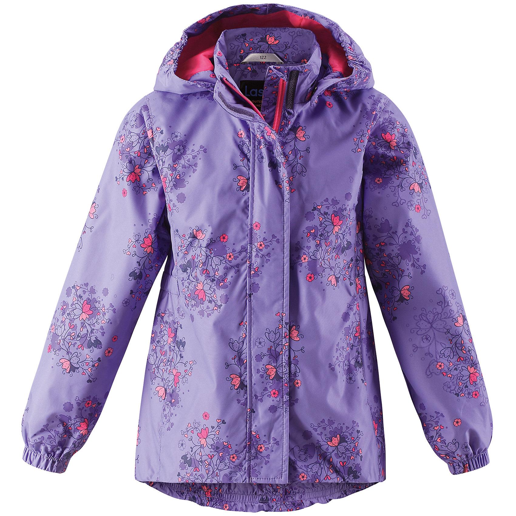 Куртка LASSIEОдежда<br>Куртка LASSIE<br>Состав:<br>100% Полиэстер, полиуретановое покрытие<br> Куртка для детей<br> Водоотталкивающий, ветронепроницаемый и «дышащий» материал<br> Крой для девочек<br> Подкладка из mesh-сетки<br> Безопасный, съемный капюшон<br> Эластичные манжеты<br> Эластичная талия<br> Эластичная кромка подола<br> Карманы в боковых швах<br><br>Ширина мм: 356<br>Глубина мм: 10<br>Высота мм: 245<br>Вес г: 519<br>Цвет: лиловый<br>Возраст от месяцев: 132<br>Возраст до месяцев: 144<br>Пол: Женский<br>Возраст: Детский<br>Размер: 134,110,128,140,92,98,104,116,122<br>SKU: 5264535