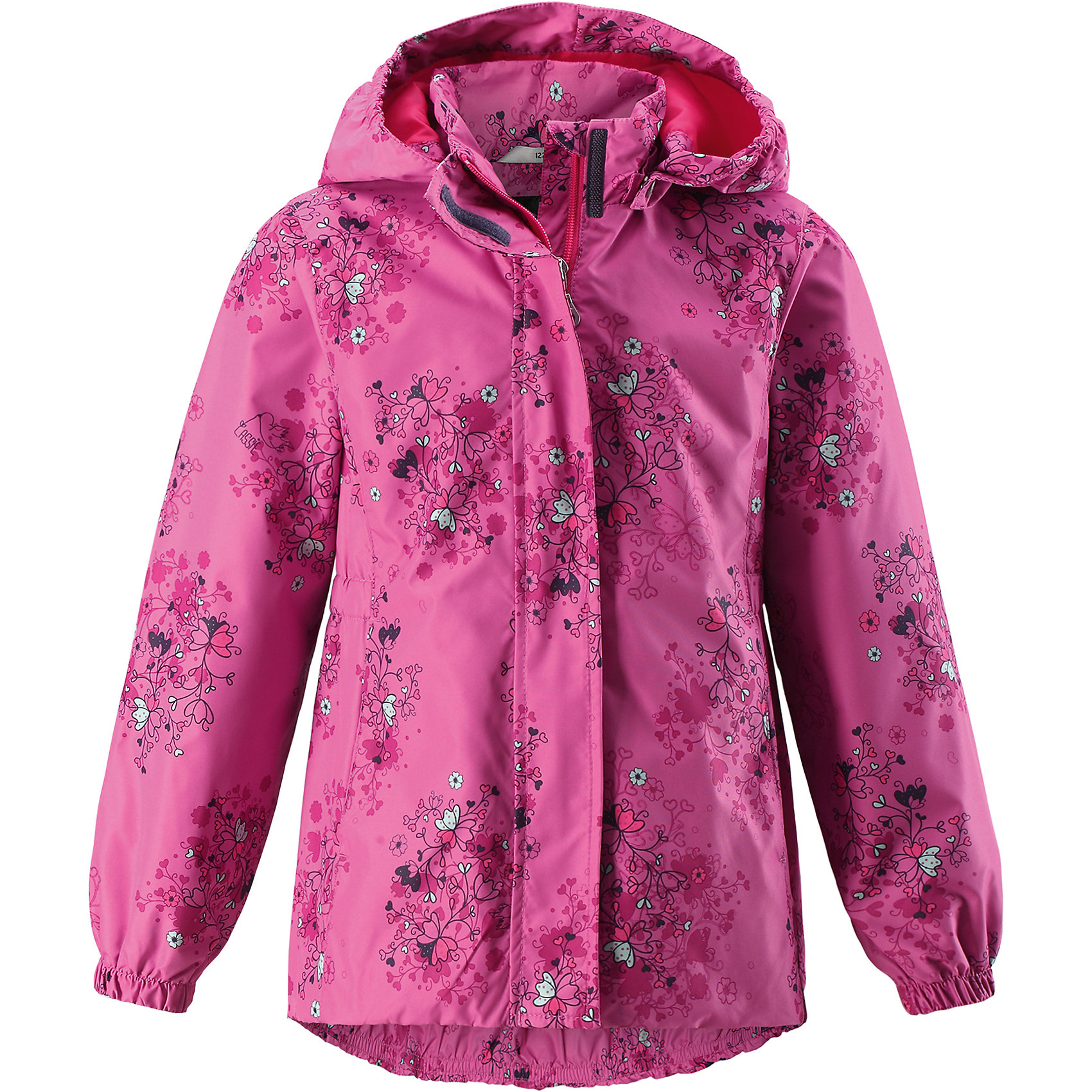 Куртка для девочки LASSIEОдежда<br>Курткадля девочки LASSIE<br>Состав:<br>100% Полиэстер, полиуретановое покрытие<br> Куртка для детей<br> Водоотталкивающий, ветронепроницаемый и «дышащий» материал<br> Крой для девочек<br> Подкладка из mesh-сетки<br> Безопасный, съемный капюшон<br> Эластичные манжеты<br> Эластичная талия<br> Эластичная кромка подола<br> Карманы в боковых швах<br><br>Ширина мм: 356<br>Глубина мм: 10<br>Высота мм: 245<br>Вес г: 519<br>Цвет: розовый<br>Возраст от месяцев: 132<br>Возраст до месяцев: 144<br>Пол: Женский<br>Возраст: Детский<br>Размер: 134,122,110,140,92,98,104,116,128<br>SKU: 5264545