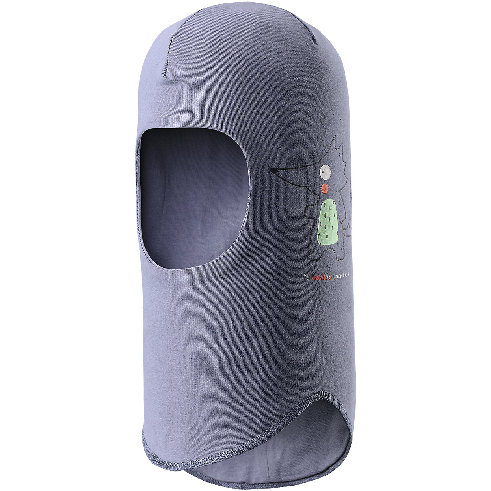 Шапка-шлем LASSIEШапка-шлем LASSIE<br>Состав:<br>97% Хлопок, 3%  эластан<br> Шапка-шлем для малышей.<br> Легкий и удобный трикотаж.<br> Сплошная подкладка: смесь хлопка jersey.<br> Декоративная эмблема.<br> Принт по всей поверхности.<br><br>Ширина мм: 89<br>Глубина мм: 117<br>Высота мм: 44<br>Вес г: 155<br>Цвет: серый<br>Возраст от месяцев: 36<br>Возраст до месяцев: 60<br>Пол: Унисекс<br>Возраст: Детский<br>Размер: 44-46,46-48,50-52<br>SKU: 5264705