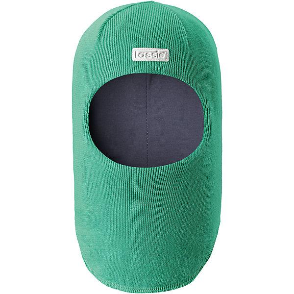 Шапка-шлем LASSIEШапки и шарфы<br>Характеристики товара:<br><br>• цвет: зеленый<br>• температурный режим: от +10°до 0°С<br>• состав: 100% хлопок<br>• эластичный материал<br>• эмблема<br>• подкладка: смесь хлопка jersey<br>• ветронепроницаемые вставки в области ушей<br>• комфортная посадка<br>• страна производства: Китай<br>• страна бренда: Финляндия<br>• коллекция: весна-лето 2017<br><br>Детский головной убор может быть модным и удобным одновременно! Стильная шапка поможет обеспечить ребенку комфорт и дополнить наряд. Она отлично смотрится с различной одеждой. Шапка удобно сидит и очень модно выглядит. Продуманный крой разрабатывался специально для детей.<br><br>Обувь и одежда от финского бренда LASSIE пользуются популярностью во многих странах. Они стильные, качественные и удобные. Для производства продукции используются только безопасные, проверенные материалы и фурнитура. Порадуйте ребенка модными и красивыми вещами от Lassie®! <br><br>Шапку-шлем от финского бренда LASSIE можно купить в нашем интернет-магазине.<br>Ширина мм: 89; Глубина мм: 117; Высота мм: 44; Вес г: 155; Цвет: зеленый; Возраст от месяцев: 6; Возраст до месяцев: 9; Пол: Мужской; Возраст: Детский; Размер: 44-46,46-48,50-52,54-56; SKU: 5264734;