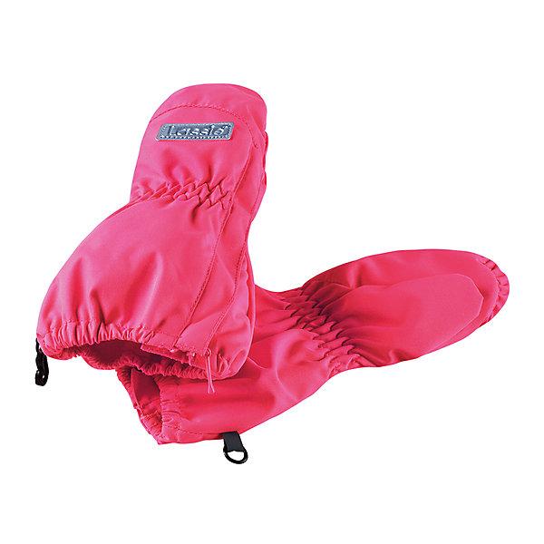 Варежки LASSIEПерчатки, варежки<br>Характеристики товара:<br><br>• цвет: розовый<br>• температурный режим: от +10°до 0°С<br>• состав: 100% полиэстер, мембрана 100% полиуретан.<br>• подкладка из полиэстера с начесом<br>• водо- и ветронепроницаемый «дышащий» материал<br>• легко надеваются благодаря молнии<br>• страна производства: Китай<br>• страна бренда: Финляндия<br>• коллекция: весна-лето 2017<br><br>LASSIE представляет новые демисезонные варежки. Они помогут обеспечить ребенку комфорт и дополнить наряд. Варежки отлично смотрятся с различной одеждой. Изделия удобно сидят и модно выглядят. Просты в уходе, долго служат. Продуманный крой разрабатывался специально для детей.<br><br>Обувь и одежда от финского бренда LASSIE пользуются популярностью во многих странах. Они стильные, качественные и удобные. Для производства продукции используются только безопасные, проверенные материалы и фурнитура. Порадуйте ребенка модными и красивыми вещами от Lassie®! <br><br>Варежки от финского бренда LASSIE можно купить в нашем интернет-магазине.<br>Ширина мм: 162; Глубина мм: 171; Высота мм: 55; Вес г: 119; Цвет: розовый; Возраст от месяцев: 0; Возраст до месяцев: 12; Пол: Женский; Возраст: Детский; Размер: 0,1,2; SKU: 5264775;