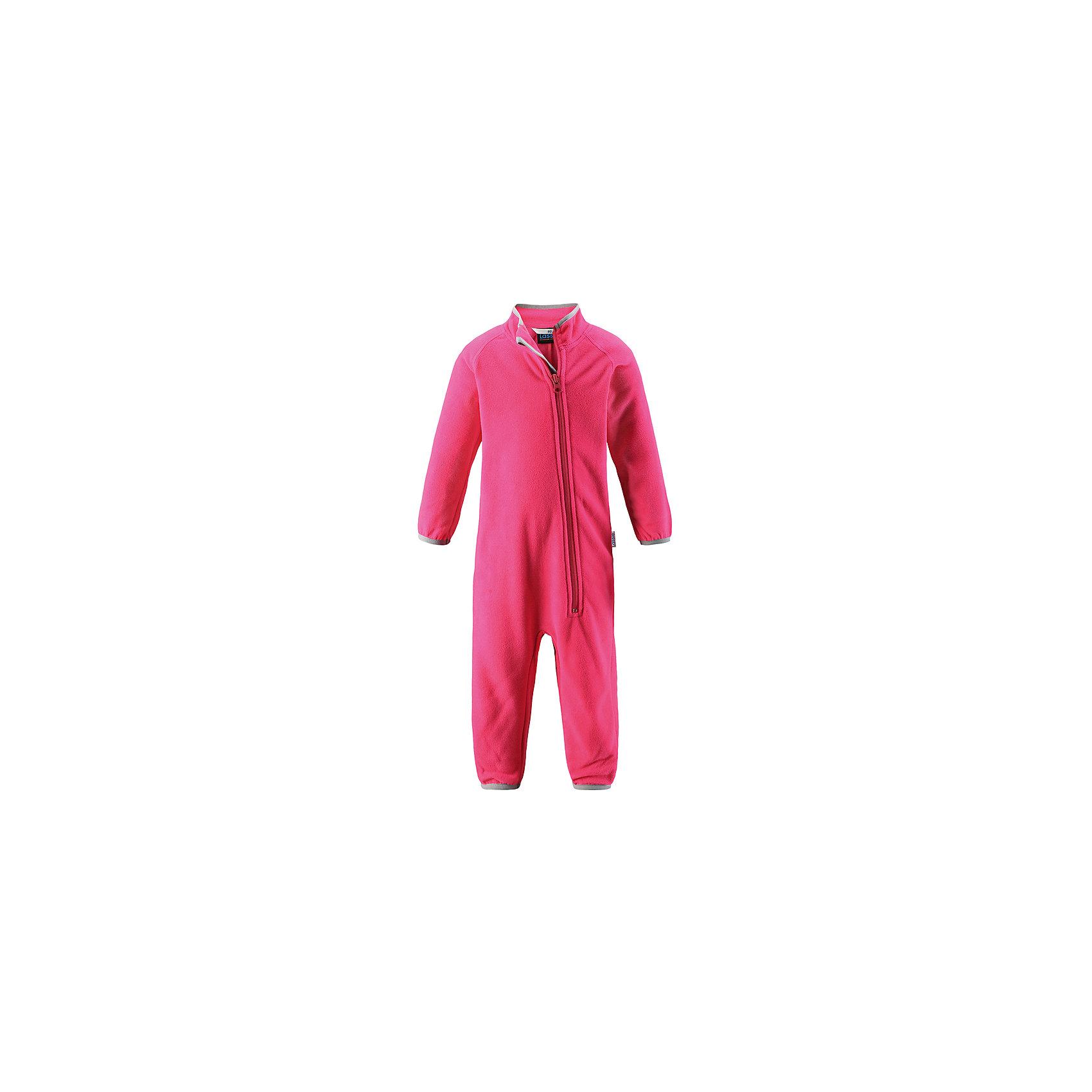 Комбинезон LASSIEФлис и термобелье<br>Характеристики товара:<br><br>• цвет: розовый<br>• состав: 100% полиэстер<br>• мягкий флис<br>• «дышащий» теплый и быстросохнущий материал<br>• эластичный воротник<br>• манжеты на рукавах и брючинах<br>• молния по всей длине<br>• комфортная посадка<br>• страна производства: Китай<br>• страна бренда: Финляндия<br>• коллекция: весна-лето 2017<br><br>Флисовый комбинезон поможет обеспечить ребенку комфорт и тепло. Он может использоваться как домашняя одежда или надеваться под верхнюю одежду. Комбинезон удобно сидит и симпатично выглядит. Материал - теплый и мягкий. Продуманный крой разрабатывался специально для детей.<br><br>Обувь и одежда от финского бренда LASSIE пользуются популярностью во многих странах. Они стильные, качественные и удобные. Для производства продукции используются только безопасные, проверенные материалы и фурнитура. Порадуйте ребенка модными и красивыми вещами от Lassie®! <br><br>Комбинезон от финского бренда LASSIE можно купить в нашем интернет-магазине.<br><br>Ширина мм: 190<br>Глубина мм: 74<br>Высота мм: 229<br>Вес г: 236<br>Цвет: розовый<br>Возраст от месяцев: 24<br>Возраст до месяцев: 36<br>Пол: Женский<br>Возраст: Детский<br>Размер: 98,68,74,80,86,92<br>SKU: 5264805