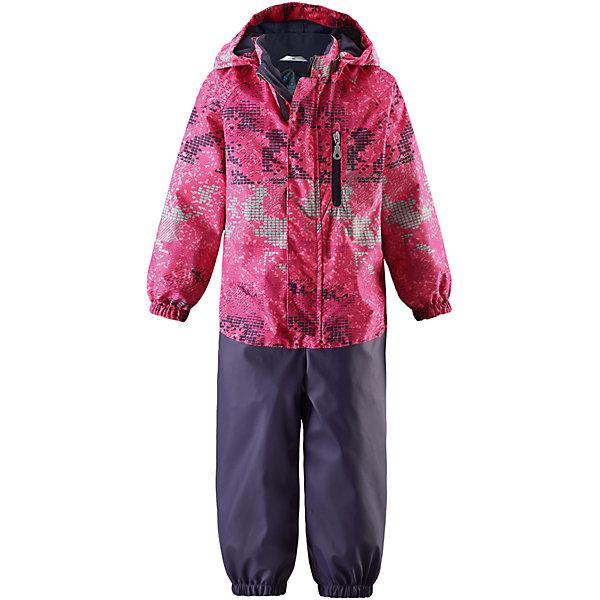 Комбинезон LASSIEОдежда<br>Характеристики товара:<br><br>• цвет: розовый<br>• температурный режим: от +20°до +10°С<br>• состав: 100% полиэстер, мембрана 100% полиуретан.<br>• верх: Материал - Plain weave<br>Водонепроницаемость/воздухопроводимость: 5000/3000 мм.<br>Сопротивление трению: 20000 циклов (тест Мартиндейла).<br>• брючины: Материал - Suprafill<br>Водонепроницаемость: 10000 мм<br>Сопротивление трению: 30000 циклов (тест Мартиндейла).<br>• без утеплителя<br>• съемные штрипки<br>• водоотталкивающий, ветронепроницаемый и грязеотталкивающий материал<br>• подкладка: гладкий полиэстер<br>• съемный капюшон<br>• карманы<br>• внешние швы проклеены в верхней части<br>• внутренние швы проклеены в нижней части<br>• эластичные манжеты и штанины<br>• эластичный обхват талии<br>• комфортная посадка<br>• страна производства: Китай<br>• страна бренда: Финляндия<br>• коллекция: весна-лето 2017<br><br>Демисезонный комбинезон поможет обеспечить ребенку комфорт и тепло. Он отлично смотрится с различной обувью. Комбинезон удобно сидит и модно выглядит. Материал - водоотталкивающий, ветронепроницаемый и грязеотталкивающий. Продуманный крой разрабатывался специально для детей.<br><br>Обувь и одежда от финского бренда LASSIE пользуются популярностью во многих странах. Они стильные, качественные и удобные. Для производства продукции используются только безопасные, проверенные материалы и фурнитура. Порадуйте ребенка модными и красивыми вещами от Lassie®! <br><br>Комбинезон от финского бренда LASSIE можно купить в нашем интернет-магазине.<br>Ширина мм: 356; Глубина мм: 10; Высота мм: 245; Вес г: 519; Цвет: розовый; Возраст от месяцев: 48; Возраст до месяцев: 60; Пол: Женский; Возраст: Детский; Размер: 110,80,92,98,74,104,86; SKU: 5264844;