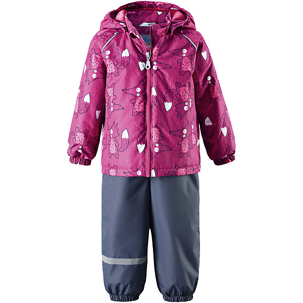 Комплект LASSIEВерхняя одежда<br>Комплект LASSIE<br>Состав:<br>100% Полиэстер, полиуретановое покрытие<br> Демисезонный комплект для самых маленьких.<br> Водоотталкивающий, ветронепроницаемый и «дышащий» материал.<br> Гладкая подкладка из полиэстра.<br> Легкая степень утепления.<br> Безопасный, съемный капюшон.<br> Эластичные манжеты.<br> Регулируемый обхват талии.<br> Эластичные штанины.<br> Съемные штрипки.<br> Два прорезных кармана.<br> Регулируемые эластичные подтяжки.<br><br>Ширина мм: 356<br>Глубина мм: 10<br>Высота мм: 245<br>Вес г: 519<br>Цвет: розовый<br>Возраст от месяцев: 6<br>Возраст до месяцев: 9<br>Пол: Унисекс<br>Возраст: Детский<br>Размер: 74,92,98,80,86<br>SKU: 5264892