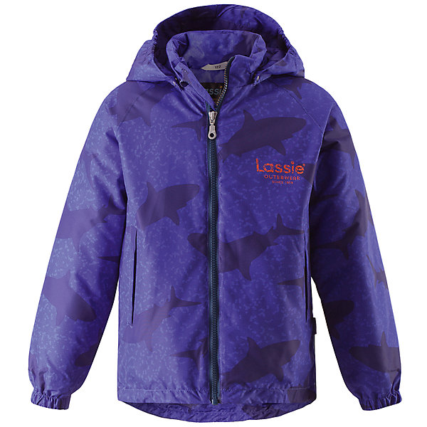 Куртка для мальчика LASSIEОдежда<br>Характеристики товара:<br><br>• цвет: синий<br>• температурный режим: от +10°до 0°С<br>• состав: 100% полиэстер, мембрана 100% полиуретан.<br>• водонепроницаемость: 1000 мм<br>• сопротивление трению: 20000 циклов (тест Мартиндейла).<br>• легкий утеплитель: 80 гр/м2<br>• водоотталкивающий, ветронепроницаемый и «дышащий» материал<br>• подкладка: гладкий полиэстер<br>• декорирована принтом<br>• карманы <br>• отстегивающийся капюшон<br>• молния<br>• подол регулируется<br>• эластичные манжеты<br>• комфортная посадка<br>• страна производства: Китай<br>• страна бренда: Финляндия<br>• коллекция: весна-лето 2017<br><br>Демисезонная куртка поможет обеспечить ребенку комфорт и тепло. Она отлично смотрится с различной одеждой и обувью. Изделие удобно сидит и модно выглядит. Материал - водоотталкивающий, ветронепроницаемый и «дышащий». Продуманный крой разрабатывался специально для детей.<br><br>Обувь и одежда от финского бренда LASSIE пользуются популярностью во многих странах. Они стильные, качественные и удобные. Для производства продукции используются только безопасные, проверенные материалы и фурнитура. Порадуйте ребенка модными и красивыми вещами от Lassie®! <br><br>Куртку для мальчика от финского бренда LASSIE можно купить в нашем интернет-магазине.<br>Ширина мм: 356; Глубина мм: 10; Высота мм: 245; Вес г: 519; Цвет: лиловый; Возраст от месяцев: 48; Возраст до месяцев: 60; Пол: Мужской; Возраст: Детский; Размер: 110,98,92,104,140,134,128,122,116; SKU: 5265010;