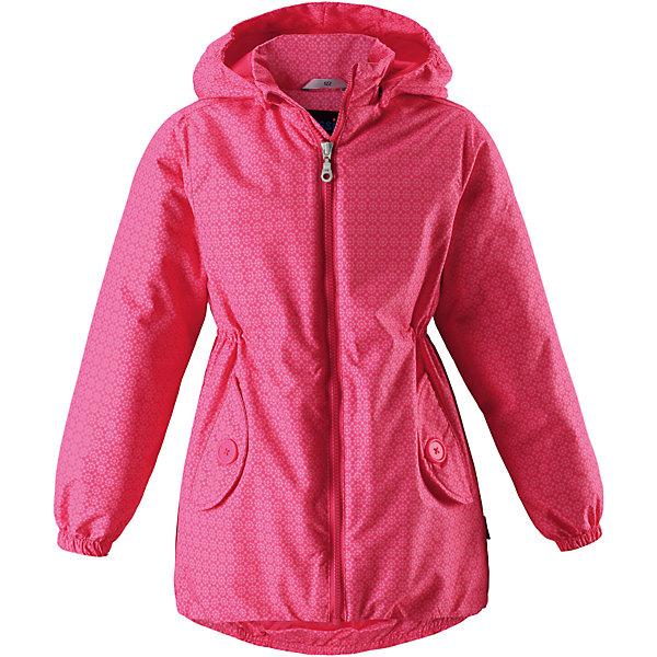 Куртка для девочки LASSIEОдежда<br>Характеристики товара:<br><br>• цвет: розовый<br>• температурный режим: от +10°до 0°С<br>• состав: 100% полиэстер, мембрана 100% полиуретан.<br>• водонепроницаемость: 1000 мм<br>• сопротивление трению: 20000 циклов (тест Мартиндейла).<br>• легкий утеплитель: 80 гр/м2<br>• водоотталкивающий, ветронепроницаемый и «дышащий» материал<br>• подкладка: гладкий полиэстер<br>• обхват талии регулируется<br>• карманы <br>• отстегивающийся капюшон<br>• молния<br>• эластичная кромка подола<br>• эластичные манжеты<br>• комфортная посадка<br>• страна производства: Китай<br>• страна бренда: Финляндия<br>• коллекция: весна-лето 2017<br><br>Демисезонная куртка поможет обеспечить ребенку комфорт и тепло. Она отлично смотрится с различной одеждой и обувью. Изделие удобно сидит и модно выглядит. Материал - водоотталкивающий, ветронепроницаемый и «дышащий». Продуманный крой разрабатывался специально для детей.<br><br>Обувь и одежда от финского бренда LASSIE пользуются популярностью во многих странах. Они стильные, качественные и удобные. Для производства продукции используются только безопасные, проверенные материалы и фурнитура. Порадуйте ребенка модными и красивыми вещами от Lassie®! <br><br>Куртку для девочки от финского бренда LASSIE можно купить в нашем интернет-магазине.<br><br>Ширина мм: 356<br>Глубина мм: 10<br>Высота мм: 245<br>Вес г: 519<br>Цвет: розовый<br>Возраст от месяцев: 48<br>Возраст до месяцев: 60<br>Пол: Женский<br>Возраст: Детский<br>Размер: 110,92,140,134,128,122,116,104,98<br>SKU: 5265040