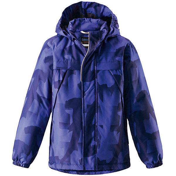 Куртка  для мальчика LASSIEОдежда<br>Характеристики товара:<br><br>• цвет: синий принт<br>• температурный режим: от +10°до 0°С<br>• состав: 100% полиэстер, мембрана 100% полиуретан.<br>• легкий утеплитель: 80 гр/м2<br>• водонепроницаемость: 1000 мм<br>• сопротивление трению: 20000 циклов (тест Мартиндейла).<br>• водоотталкивающий, ветронепроницаемый и «дышащий» материал<br>• карманы <br>• отстегивающийся капюшон<br>• молния<br>• планка от ветра<br>• эластичные манжеты<br>• комфортная посадка<br>• страна производства: Китай<br>• страна бренда: Финляндия<br>• коллекция: весна-лето 2017<br><br>Демисезонная куртка поможет обеспечить ребенку комфорт и тепло. Она отлично смотрится с различной одеждой и обувью. Изделие удобно сидит и модно выглядит. Материал - водоотталкивающий, ветронепроницаемый и «дышащий». Продуманный крой разрабатывался специально для детей.<br><br>Обувь и одежда от финского бренда LASSIE пользуются популярностью во многих странах. Они стильные, качественные и удобные. Для производства продукции используются только безопасные, проверенные материалы и фурнитура. Порадуйте ребенка модными и красивыми вещами от Lassie®!<br><br>Куртку для мальчика от финского бренда LASSIE можно купить в нашем интернет-магазине.<br>Ширина мм: 356; Глубина мм: 10; Высота мм: 245; Вес г: 519; Цвет: синий; Возраст от месяцев: 18; Возраст до месяцев: 24; Пол: Мужской; Возраст: Детский; Размер: 92,140,134,98,104,110,116,122,128; SKU: 5265080;