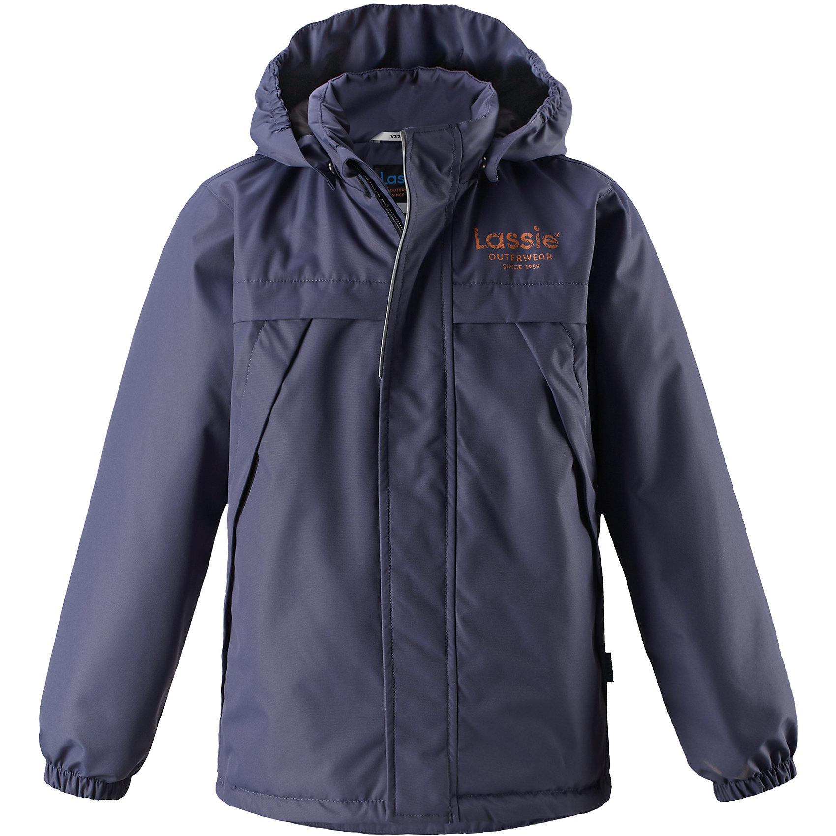 Куртка  для мальчика LASSIEОдежда<br>Куртка  для мальчика LASSIE<br>Состав:<br>100% Полиэстер, полиуретановое покрытие<br> Куртка демисезонная для детей<br> Водоотталкивающий, ветронепроницаемый и «дышащий» материал<br> Гладкая подкладка из полиэстра<br> Легкая степень утепления<br> Безопасный, съемный капюшон<br> Эластичные манжеты<br> Регулируемый подол<br> Передние карманы<br><br>Ширина мм: 356<br>Глубина мм: 10<br>Высота мм: 245<br>Вес г: 519<br>Цвет: серый<br>Возраст от месяцев: 48<br>Возраст до месяцев: 60<br>Пол: Мужской<br>Возраст: Детский<br>Размер: 98,110,104,92,140,134,128,122,116<br>SKU: 5265100