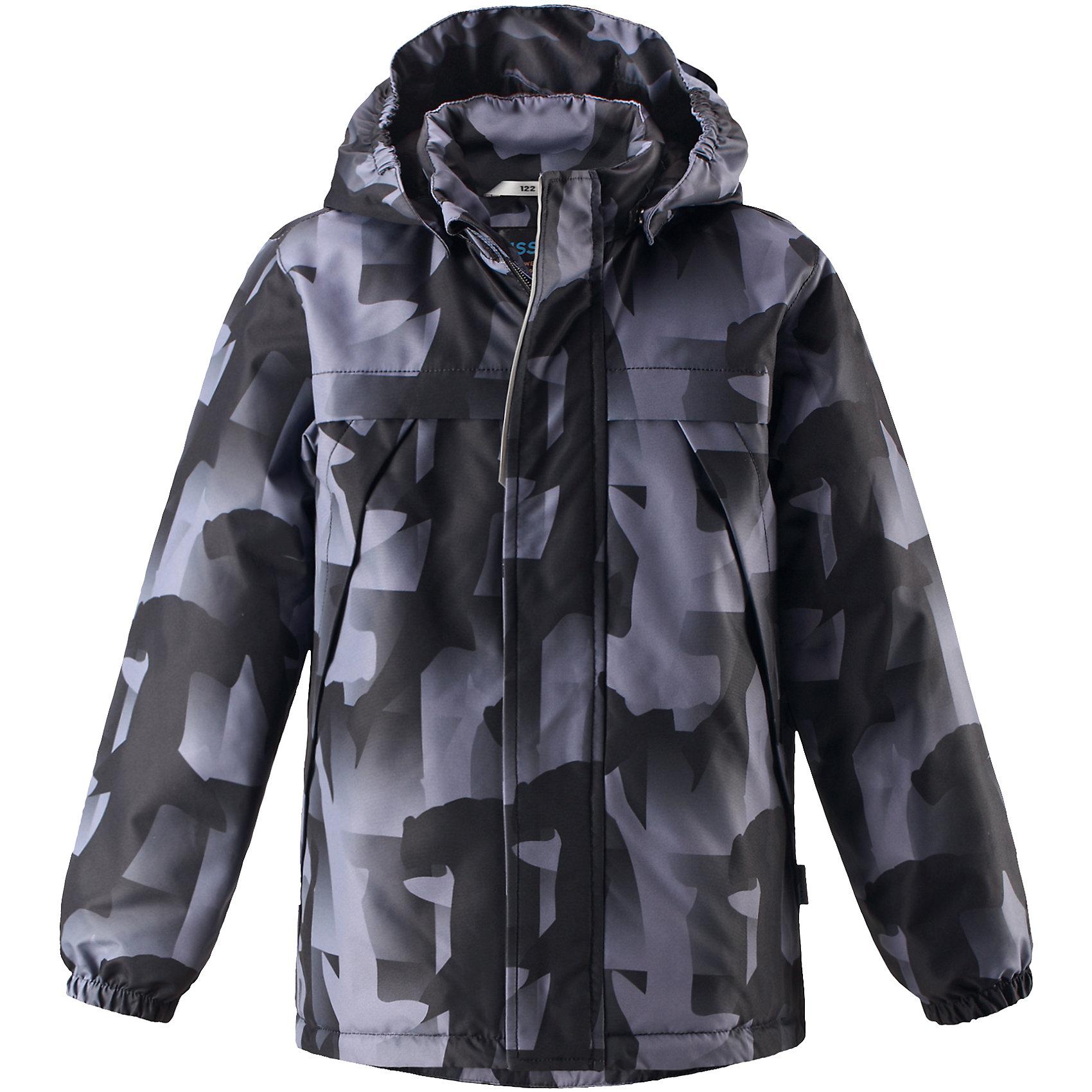 Куртка  для мальчика LASSIEКуртка  для мальчика LASSIE<br>Состав:<br>100% Полиэстер, полиуретановое покрытие<br> Куртка демисезонная для детей<br> Водоотталкивающий, ветронепроницаемый и «дышащий» материал<br> Гладкая подкладка из полиэстра<br> Легкая степень утепления<br> Безопасный, съемный капюшон<br> Эластичные манжеты<br> Регулируемый подол<br> Передние карманы<br><br>Ширина мм: 356<br>Глубина мм: 10<br>Высота мм: 245<br>Вес г: 519<br>Цвет: черный<br>Возраст от месяцев: 60<br>Возраст до месяцев: 72<br>Пол: Мужской<br>Возраст: Детский<br>Размер: 116,110,104,98,92,140,134,128,122<br>SKU: 5265110