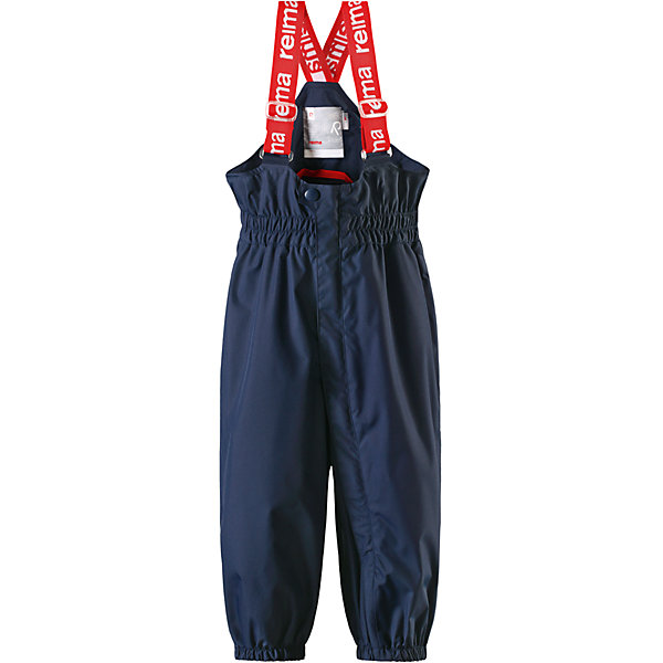 Брюки Tuikku для мальчика Reimatec® ReimaВерхняя одежда<br>Характеристики товара:<br><br>• цвет: синий<br>• состав: 100% полиэстер, полиуретановое покрытие<br>• температурный режим: от +5°до +15°С<br>• водонепроницаемость: 15000 мм<br>• воздухопроницаемость: 5000 мм<br>• износостойкость: 40000 циклов (тест Мартиндейла)<br>• без утеплителя<br>• все швы проклеены, водонепроницаемы<br>• водо- и ветронепроницаемый, «дышащий» и грязеотталкивающий материал<br>• гладкая подкладка из полиэстера<br>• высокая талия с регулируемыми подтяжками<br>• эластичные манжеты на брючинах<br>• прочные съёмные силиконовые штрипки<br>• длинная застёжка на молнии облегчает надевание<br>• светоотражающие детали<br>• комфортная посадка<br>• страна производства: Китай<br>• страна бренда: Финляндия<br>• коллекция: весна-лето 2017<br><br>Демисезонные брюки помогут обеспечить ребенку комфорт и тепло. Они отлично смотрятся с различным верхом. Изделие удобно сидит и модно выглядит. Материал отлично подходит для дождливой погоды. Стильный дизайн разрабатывался специально для детей.<br><br>Обувь и одежда от финского бренда Reima пользуются популярностью во многих странах. Они стильные, качественные и удобные. Для производства продукции используются только безопасные, проверенные материалы и фурнитура.<br><br>Брюки Reimatec® от финского бренда Reima (Рейма) можно купить в нашем интернет-магазине.<br>Ширина мм: 215; Глубина мм: 88; Высота мм: 191; Вес г: 336; Цвет: синий; Возраст от месяцев: 6; Возраст до месяцев: 9; Пол: Мужской; Возраст: Детский; Размер: 74,92,86,98,80; SKU: 5265502;