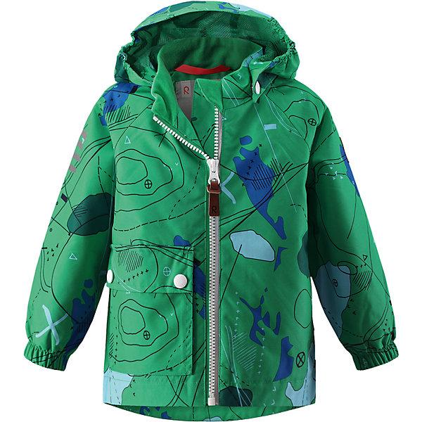 Куртка Leikki для мальчика Reimatec® ReimaОдежда<br>Характеристики товара:<br><br>• цвет: зеленый<br>• состав: 100% полиэстер, полиуретановое покрытие<br>• температурный режим: от +5°до +15°С<br>• водонепроницаемость: 8000 мм<br>• воздухопроницаемость: 5000 мм<br>• износостойкость: 30000 циклов (тест Мартиндейла)<br>• без утеплителя<br>• швы проклеены, водонепроницаемы<br>• водо- и ветронепроницаемый, дышащий, грязеотталкивающий материал<br>• гладкая подкладка из полиэстера<br>• эластичные манжеты<br>• карман с клапаном<br>• светоотражающие детали<br>• комфортная посадка<br>• страна производства: Китай<br>• страна бренда: Финляндия<br>• коллекция: весна-лето 2017<br><br>Верхняя одежда для детей может быть модной и комфортной одновременно! Демисезонная куртка поможет обеспечить ребенку комфорт и тепло. Она отлично смотрится с различной одеждой и обувью. Изделие удобно сидит и модно выглядит. Материал - прочный, хорошо подходящий для межсезонья, водо- и ветронепроницаемый, «дышащий». Стильный дизайн разрабатывался специально для детей.<br><br>Одежда и обувь от финского бренда Reima пользуется популярностью во многих странах. Эти изделия стильные, качественные и удобные. Для производства продукции используются только безопасные, проверенные материалы и фурнитура. Порадуйте ребенка модными и красивыми вещами от Reima! <br><br>Куртку для мальчика Reimatec® от финского бренда Reima (Рейма) можно купить в нашем интернет-магазине.<br>Ширина мм: 356; Глубина мм: 10; Высота мм: 245; Вес г: 519; Цвет: зеленый; Возраст от месяцев: 6; Возраст до месяцев: 9; Пол: Мужской; Возраст: Детский; Размер: 74,80,98,86,92; SKU: 5265544;