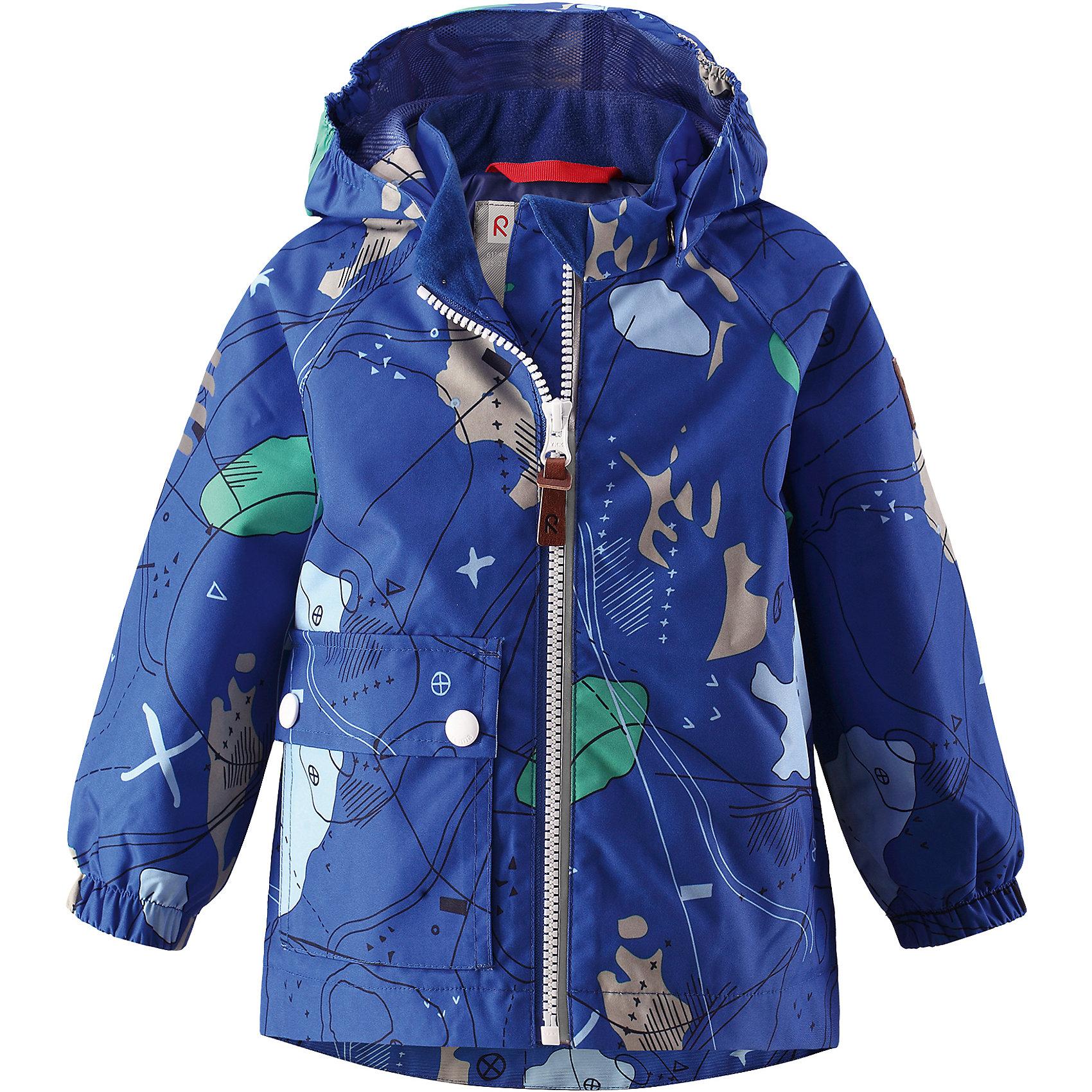 Куртка Leikki для мальчика Reimatec® ReimaОдежда<br>Характеристики товара:<br><br>• цвет: синий<br>• состав: 100% полиэстер, полиуретановое покрытие<br>• температурный режим: от +5°до +15°С<br>• водонепроницаемость: 8000 мм<br>• воздухопроницаемость: 5000 мм<br>• износостойкость: 30000 циклов (тест Мартиндейла)<br>• без утеплителя<br>• швы проклеены, водонепроницаемы<br>• водо- и ветронепроницаемый, дышащий, грязеотталкивающий материал<br>• гладкая подкладка из полиэстера<br>• эластичные манжеты<br>• карман с клапаном<br>• светоотражающие детали<br>• комфортная посадка<br>• страна производства: Китай<br>• страна бренда: Финляндия<br>• коллекция: весна-лето 2017<br><br>Верхняя одежда для детей может быть модной и комфортной одновременно! Демисезонная куртка поможет обеспечить ребенку комфорт и тепло. Она отлично смотрится с различной одеждой и обувью. Изделие удобно сидит и модно выглядит. Материал - прочный, хорошо подходящий для межсезонья, водо- и ветронепроницаемый, «дышащий». Стильный дизайн разрабатывался специально для детей.<br><br>Одежда и обувь от финского бренда Reima пользуется популярностью во многих странах. Эти изделия стильные, качественные и удобные. Для производства продукции используются только безопасные, проверенные материалы и фурнитура. Порадуйте ребенка модными и красивыми вещами от Reima! <br><br>Куртку для мальчика Reimatec® от финского бренда Reima (Рейма) можно купить в нашем интернет-магазине.<br><br>Ширина мм: 356<br>Глубина мм: 10<br>Высота мм: 245<br>Вес г: 519<br>Цвет: синий<br>Возраст от месяцев: 12<br>Возраст до месяцев: 15<br>Пол: Мужской<br>Возраст: Детский<br>Размер: 98,92,74,86,80<br>SKU: 5265556