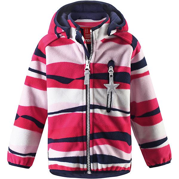 Куртка Viklo для девочки ReimaВерхняя одежда<br>Характеристики товара:<br><br>• цвет: розовый<br>• состав: 100% полиэстер, полиуретановое покрытие<br>• температурный режим: от +5° до +15°С<br>• водонепроницаемость: 10000 мм<br>• воздухопроницаемость: 5000 мм<br>• без утеплителя<br>• материал windfleece<br>• не пропускает ветер<br>• водоотталкивающий, ветронепроницаемый и дышащий материал<br>• многослойный материал, с изнаночной стороны - джерси<br>• гладкая трикотажная подкладка из полиэстера<br>• безопасный съёмный капюшон<br>• эластичная сборка по карю капюшона, на манжетах и на подоле<br>• эластичные манжеты<br>• карман на молнии<br>• светоотражающие детали<br>• комфортная посадка<br>• страна производства: Китай<br>• страна бренда: Финляндия<br>• коллекция: весна-лето 2017<br><br>Верхняя одежда для детей может быть модной и комфортной одновременно! Демисезонная куртка поможет обеспечить ребенку комфорт и тепло. Она отлично смотрится с различной одеждой и обувью. Изделие удобно сидит и модно выглядит. Материал - прочный, хорошо подходящий для межсезонья, водо- и ветронепроницаемый, «дышащий». Стильный дизайн разрабатывался специально для детей.<br><br>Одежда и обувь от финского бренда Reima пользуется популярностью во многих странах. Эти изделия стильные, качественные и удобные. Для производства продукции используются только безопасные, проверенные материалы и фурнитура. Порадуйте ребенка модными и красивыми вещами от Reima! <br><br>Куртку для мальчика Reimatec® от финского бренда Reima (Рейма) можно купить в нашем интернет-магазине.<br><br>Ширина мм: 356<br>Глубина мм: 10<br>Высота мм: 245<br>Вес г: 519<br>Цвет: красный<br>Возраст от месяцев: 6<br>Возраст до месяцев: 9<br>Пол: Женский<br>Возраст: Детский<br>Размер: 74,86,98,92,80<br>SKU: 5265604