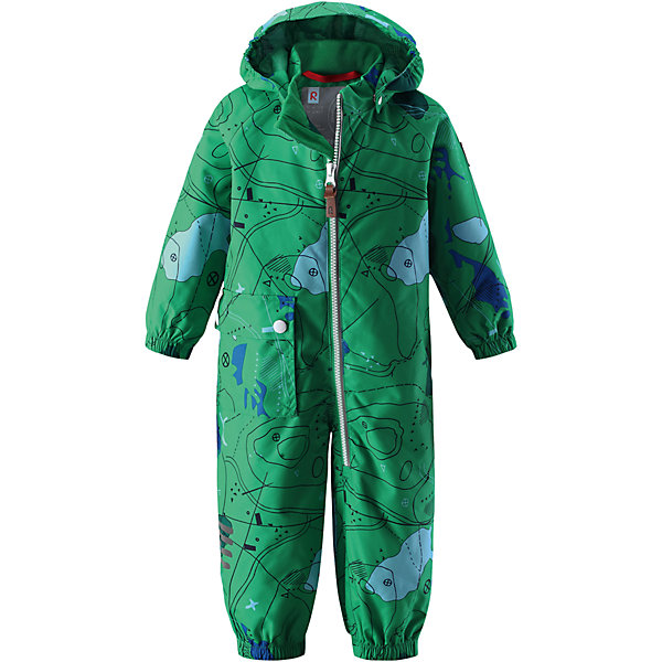 Комбинезон Leikki для мальчика Reimatec® ReimaВерхняя одежда<br>Характеристики товара:<br><br>• цвет: зеленый<br>• состав: 100% полиэстер, полиуретановое покрытие<br>• температурный режим от +5° до +15°С<br>• водонепроницаемость: 8000 мм<br>• воздухопроницаемость: 5000  мм<br>• износостойкость: 30000 циклов (тест Мартиндейла)<br>• без утеплителя<br>• швы проклеены, водонепроницаемы<br>• водо- и ветронепроницаемый, дышащий, грязеотталкивающий материал<br>• гладкая подкладка из полиэстера по всему изделию, mesh-сетка на капюшоне<br>• безопасный съёмный капюшон<br>• эластичные манжеты<br>• талия регулируется изнутри<br>• эластичные манжеты на брючинах<br>• эластичный съёмные штрипки<br>• накладной карман<br>• светоотражающие детали<br>• комфортная посадка<br>• страна производства: Китай<br>• страна бренда: Финляндия<br>• коллекция: весна-лето 2017<br><br>Верхняя одежда для детей может быть модной и комфортной одновременно! Демисезонный комбинезон поможет обеспечить ребенку комфорт и тепло. Он отлично смотрится с различной обувью. Изделие удобно сидит и модно выглядит. Материал - прочный, хорошо подходящий для межсезонья, водо- и ветронепроницаемый, «дышащий». Стильный дизайн разрабатывался специально для детей.<br><br>Одежда и обувь от финского бренда Reima пользуется популярностью во многих странах. Эти изделия стильные, качественные и удобные. Для производства продукции используются только безопасные, проверенные материалы и фурнитура. Порадуйте ребенка модными и красивыми вещами от Reima! <br><br>Комбинезон для мальчика Reimatec® от финского бренда Reima (Рейма) можно купить в нашем интернет-магазине.<br><br>Ширина мм: 356<br>Глубина мм: 10<br>Высота мм: 245<br>Вес г: 519<br>Цвет: зеленый<br>Возраст от месяцев: 24<br>Возраст до месяцев: 36<br>Пол: Мужской<br>Возраст: Детский<br>Размер: 98,74,86,92,80<br>SKU: 5265646