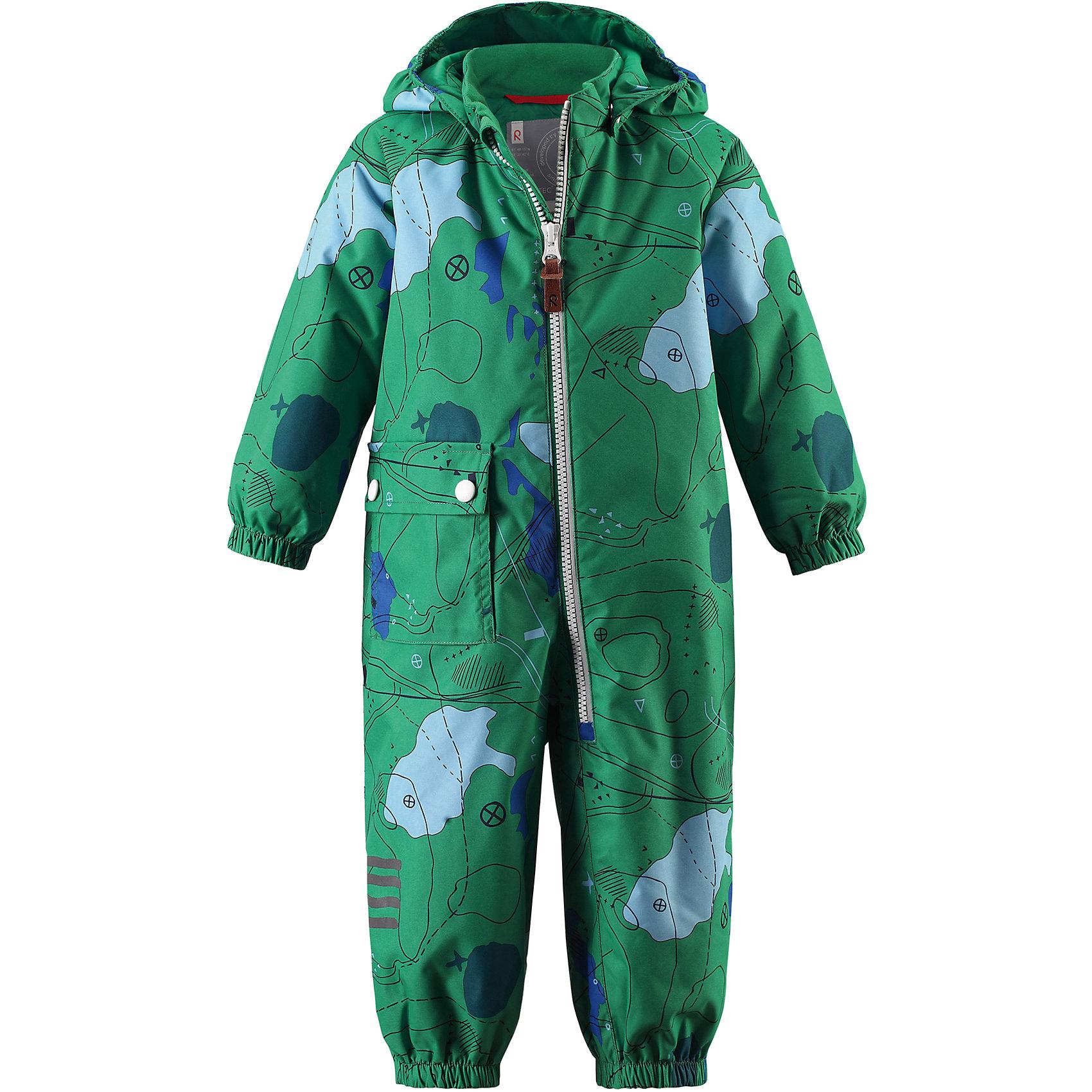 Комбинезон Leikki для мальчика Reimatec® ReimaВерхняя одежда<br>Характеристики товара:<br><br>• цвет: зеленый<br>• состав: 100% полиэстер, полиуретановое покрытие<br>• температурный режим: от 0° до +10°С<br>• легкий утеплитель: 80 гр/м2<br>• водонепроницаемость: 8000 мм<br>• воздухопроницаемость: 5000 мм<br>• износостойкость: 30000 циклов (тест Мартиндейла)<br>• основные швы проклеены, водонепроницаемы<br>• водо- и ветронепроницаемый, дышащий, грязеотталкивающий материал<br>• гладкая подкладка из полиэстера по всему изделию, mesh сетка на капюшоне<br>• безопасный съёмный капюшон<br>• эластичные манжеты<br>• талия регулируется изнутри<br>• эластичные манжеты на брючинах<br>• эластичные съёмные штрипки<br>• накладной карман<br>• светоотражающие детали<br>• комфортная посадка<br>• страна производства: Китай<br>• страна бренда: Финляндия<br>• коллекция: весна-лето 2017<br><br>Верхняя одежда для детей может быть модной и комфортной одновременно! Демисезонный комбинезон поможет обеспечить ребенку комфорт и тепло. Он отлично смотрится с различной обувью. Изделие удобно сидит и модно выглядит. Материал - прочный, хорошо подходящий для межсезонья, водо- и ветронепроницаемый, «дышащий». Стильный дизайн разрабатывался специально для детей.<br><br>Одежда и обувь от финского бренда Reima пользуется популярностью во многих странах. Эти изделия стильные, качественные и удобные. Для производства продукции используются только безопасные, проверенные материалы и фурнитура. Порадуйте ребенка модными и красивыми вещами от Reima! <br><br>Комбинезон для мальчика Reimatec® от финского бренда Reima (Рейма) можно купить в нашем интернет-магазине.<br><br>Ширина мм: 356<br>Глубина мм: 10<br>Высота мм: 245<br>Вес г: 519<br>Цвет: зеленый<br>Возраст от месяцев: 18<br>Возраст до месяцев: 24<br>Пол: Мужской<br>Возраст: Детский<br>Размер: 92,86,98,80,74<br>SKU: 5265754