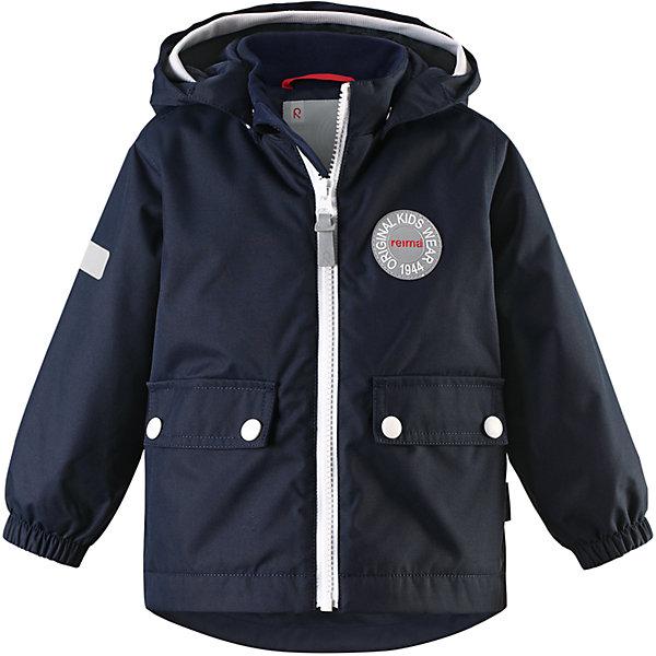 Куртка Quilt для мальчика Reimatec® ReimaВерхняя одежда<br>Характеристики товара:<br><br>• цвет: темно-синий<br>• состав: 100% полиэстер, полиуретановое покрытие<br>• температурный режим: от 0° до +10°С<br>• легкий утеплитель: 80 гр/м2<br>• водонепроницаемость: 8000 мм<br>• воздухопроницаемость: 5000 мм<br>• износостойкость: 30000 циклов (тес Мартиндейла)<br>• основные швы проклеены, водонепроницаемы<br>• водо- и ветронепроницаемый, дышащий, грязеотталкивающий материал<br>• безопасный съёмный капюшон<br>• мягкая резинка по краю капюшона<br>• эластичные манжеты<br>• два кармана с клапанами<br>• светоотражающие детали<br>• комфортная посадка<br>• страна производства: Китай<br>• страна бренда: Финляндия<br>• коллекция: весна-лето 2017<br><br>В межсезонье верхняя одежда для детей может быть модной и комфортной одновременно! Демисезонная куртка поможет обеспечить ребенку комфорт и тепло. Она отлично смотрится с различной одеждой и обувью. Изделие удобно сидит и модно выглядит. Материал - прочный, хорошо подходящий для межсезонья, водо- и ветронепроницаемый, «дышащий». Стильный дизайн разрабатывался специально для детей.<br><br>Одежда и обувь от финского бренда Reima пользуется популярностью во многих странах. Эти изделия стильные, качественные и удобные. Для производства продукции используются только безопасные, проверенные материалы и фурнитура. Порадуйте ребенка модными и красивыми вещами от Reima! <br><br>Куртку для девочки Reimatec® от финского бренда Reima (Рейма) можно купить в нашем интернет-магазине.<br>Ширина мм: 356; Глубина мм: 10; Высота мм: 245; Вес г: 519; Цвет: синий; Возраст от месяцев: 12; Возраст до месяцев: 18; Пол: Мужской; Возраст: Детский; Размер: 86,74,98,92,80; SKU: 5265802;