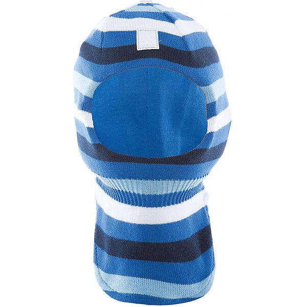 Шапка-шлем Ades ReimaШапки и шарфы<br>Характеристики товара:<br><br>• цвет: голубой<br>• состав: 100% хлопок<br>• сплошная подкладка из хлопкового трикотажа<br>• температурный режим: от 0С<br>• эластичный хлопковый трикотаж<br>• изделие сертифицированно по стандарту Oeko-Tex на продукцию класса 1 - одежда для новорождённых<br>• эмблема Reima спереди<br>• светоотражающие детали<br>• страна бренда: Финляндия<br>• страна производства: Китай<br><br>Детский головной убор может быть модным и удобным одновременно! Стильная шапка поможет обеспечить ребенку комфорт и дополнить наряд. Шапка удобно сидит и аккуратно выглядит. Проста в уходе, долго служит. Стильный дизайн разрабатывался специально для детей. Отличная защита от дождя и ветра!<br><br>Уход:<br><br>• стирать по отдельности, вывернув наизнанку<br>• придать первоначальную форму вo влажном виде<br>• возможна усадка 5 %.<br><br>Шапку-шлем от финского бренда Reima (Рейма) можно купить в нашем интернет-магазине.<br><br>Ширина мм: 89<br>Глубина мм: 117<br>Высота мм: 44<br>Вес г: 155<br>Цвет: синий<br>Возраст от месяцев: 6<br>Возраст до месяцев: 9<br>Пол: Унисекс<br>Возраст: Детский<br>Размер: 46,52,48,50<br>SKU: 5265842