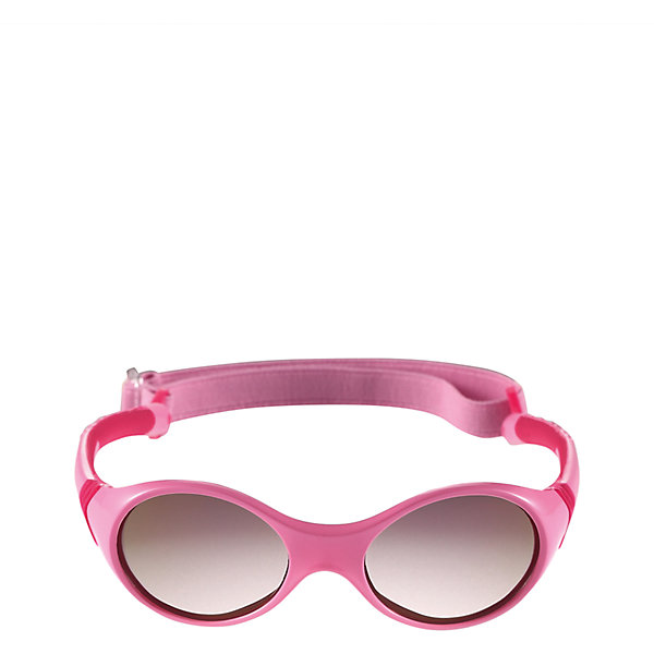 Солнцезащитные очки Ankka для девочки ReimaОдежда<br>Характеристики товара:<br><br>• цвет: розовый<br>• состав: оправа - TPEE/TPR/TR90/Резина, линзы - PC<br>• возраст: 0+<br>• 3 степень УФА + УФВ защиты<br>• съёмная эластичная резинка<br>• поляризованные зеркальные линзы<br>• обработка противотуманным покрытием<br>• мягкая и эластичная оправа <br>• защитный чехол в комплекте<br>• регулируемый размер<br>• европейский сертификат соответствия<br>• защита от ультрафиолетовых лучей спектра A и спектра B класса 5<br>• страна производства: Китай<br>• страна бренда: Финляндия<br>• коллекция: весна-лето 2017<br><br>Специальные очки помогут уберечь глаза детей от повреждения прямыми солнечными лучами. Эта модель разрабатывалась для малышей - у неё мягкая оправа с очень комфортной посадкой, зеркальные линзы со специальной обработкой, есть защитный чехол. Очки не только хорошо проработаны, они стильно смотрятся!<br><br>Обувь и одежда от финского бренда Reima пользуются популярностью во многих странах. Они стильные, качественные и удобные. Для производства продукции используются только безопасные, проверенные материалы и фурнитура.<br><br>Солнцезащитные очки для девочки от финского бренда Reima (Рейма) можно купить в нашем интернет-магазине.<br>Ширина мм: 170; Глубина мм: 157; Высота мм: 67; Вес г: 117; Цвет: розовый; Возраст от месяцев: 48; Возраст до месяцев: 72; Пол: Женский; Возраст: Детский; Размер: one size; SKU: 5266114;