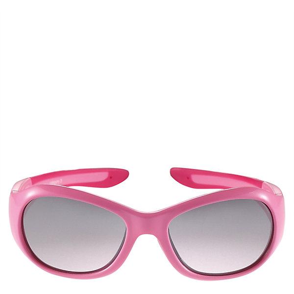 Солнцезащитные очки Bayou для девочки ReimaОдежда<br>Характеристики товара:<br><br>• цвет: розовый<br>• состав: оправа - TPEE/TPR/TR90/Резина, линзы - PC<br>• рекомендовано для детей 0-4 лет<br>• поляризованные зеркальные линзы<br>• обработка противотуманным покрытием<br>• мягкая и эластичная оправа <br>• защитный чехол в комплекте<br>• европейский сертификат соответствия<br>• защита от ультрафиолетовых лучей спектра A и спектра B класса 5<br>• страна производства: Китай<br>• страна бренда: Финляндия<br>• коллекция: весна-лето 2017<br><br>Специальные очки помогут уберечь глаза детей от повреждения прямыми солнечными лучами. Эта модель разрабатывалась для малышей - у неё мягкая оправа с очень комфортной посадкой, зеркальные линзы со специальной обработкой, есть защитный чехол. Очки не только хорошо проработаны, они стильно смотрятся!<br><br>Обувь и одежда от финского бренда Reima пользуются популярностью во многих странах. Они стильные, качественные и удобные. Для производства продукции используются только безопасные, проверенные материалы и фурнитура.<br><br>Солнцезащитные очки для девочки от финского бренда Reima (Рейма) можно купить в нашем интернет-магазине.<br>Ширина мм: 170; Глубина мм: 157; Высота мм: 67; Вес г: 117; Цвет: розовый; Возраст от месяцев: 48; Возраст до месяцев: 72; Пол: Женский; Возраст: Детский; Размер: one size; SKU: 5266120;