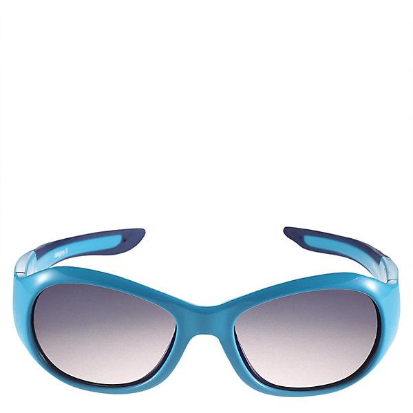 Солнцезащитные очки Bayou Reima для девочкиОдежда<br>Характеристики товара:<br><br>• цвет: голубой<br>• состав: оправа - TPEE/TPR/TR90/Резина, линзы - PC<br>• рекомендовано для детей 0-4 лет<br>• поляризованные зеркальные линзы<br>• обработка противотуманным покрытием<br>• мягкая и эластичная оправа <br>• защитный чехол в комплекте<br>• европейский сертификат соответствия<br>• защита от ультрафиолетовых лучей спектра A и спектра B класса 5<br>• страна производства: Китай<br>• страна бренда: Финляндия<br>• коллекция: весна-лето 2017<br><br>Специальные очки помогут уберечь глаза детей от повреждения прямыми солнечными лучами. Эта модель разрабатывалась для малышей - у неё мягкая оправа с очень комфортной посадкой, зеркальные линзы со специальной обработкой, есть защитный чехол. Очки не только хорошо проработаны, они стильно смотрятся!<br><br>Обувь и одежда от финского бренда Reima пользуются популярностью во многих странах. Они стильные, качественные и удобные. Для производства продукции используются только безопасные, проверенные материалы и фурнитура.<br><br>Солнцезащитные очки для девочки от финского бренда Reima (Рейма) можно купить в нашем интернет-магазине.<br>Ширина мм: 170; Глубина мм: 157; Высота мм: 67; Вес г: 117; Цвет: синий; Возраст от месяцев: 48; Возраст до месяцев: 72; Пол: Женский; Возраст: Детский; Размер: one size; SKU: 5266122;