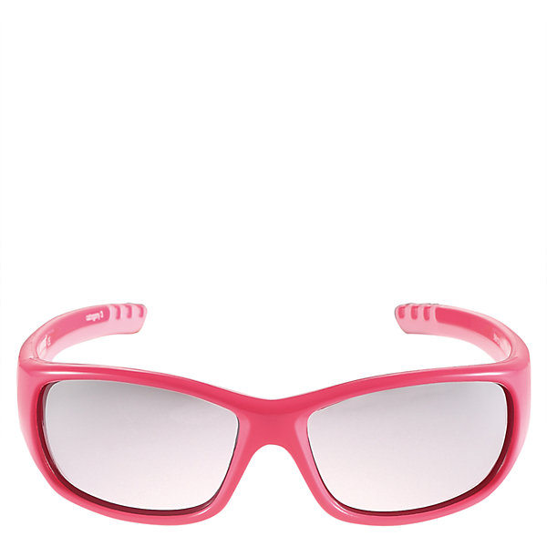 Солнцезащитные очки Sereno для девочки ReimaОдежда<br>Характеристики товара:<br><br>• цвет: розовый<br>• состав: оправа - TPEE/TPR/TR90/Резина, линзы - PC<br>• рекомендовано для детей 4-6 лет<br>• 3 степень УФА + УФВ защиты<br>• поляризованные зеркальные линзы<br>• обработка противотуманным покрытием<br>• мягкая и эластичная оправа <br>• защитный чехол в комплекте<br>• европейский сертификат соответствия<br>• защита от ультрафиолетовых лучей спектра A и спектра B класса 5<br>• страна производства: Китай<br>• страна бренда: Финляндия<br>• коллекция: весна-лето 2017<br><br>Специальные очки помогут уберечь глаза детей от повреждения прямыми солнечными лучами. Эта модель разрабатывалась для малышей - у неё мягкая оправа с очень комфортной посадкой, зеркальные линзы со специальной обработкой, есть защитный чехол. Очки не только хорошо проработаны, они стильно смотрятся!<br><br>Обувь и одежда от финского бренда Reima пользуются популярностью во многих странах. Они стильные, качественные и удобные. Для производства продукции используются только безопасные, проверенные материалы и фурнитура.<br><br>Солнцезащитные очки для девочки от финского бренда Reima (Рейма) можно купить в нашем интернет-магазине.<br><br>Ширина мм: 170<br>Глубина мм: 157<br>Высота мм: 67<br>Вес г: 117<br>Цвет: розовый<br>Возраст от месяцев: 48<br>Возраст до месяцев: 72<br>Пол: Женский<br>Возраст: Детский<br>Размер: one size<br>SKU: 5266124