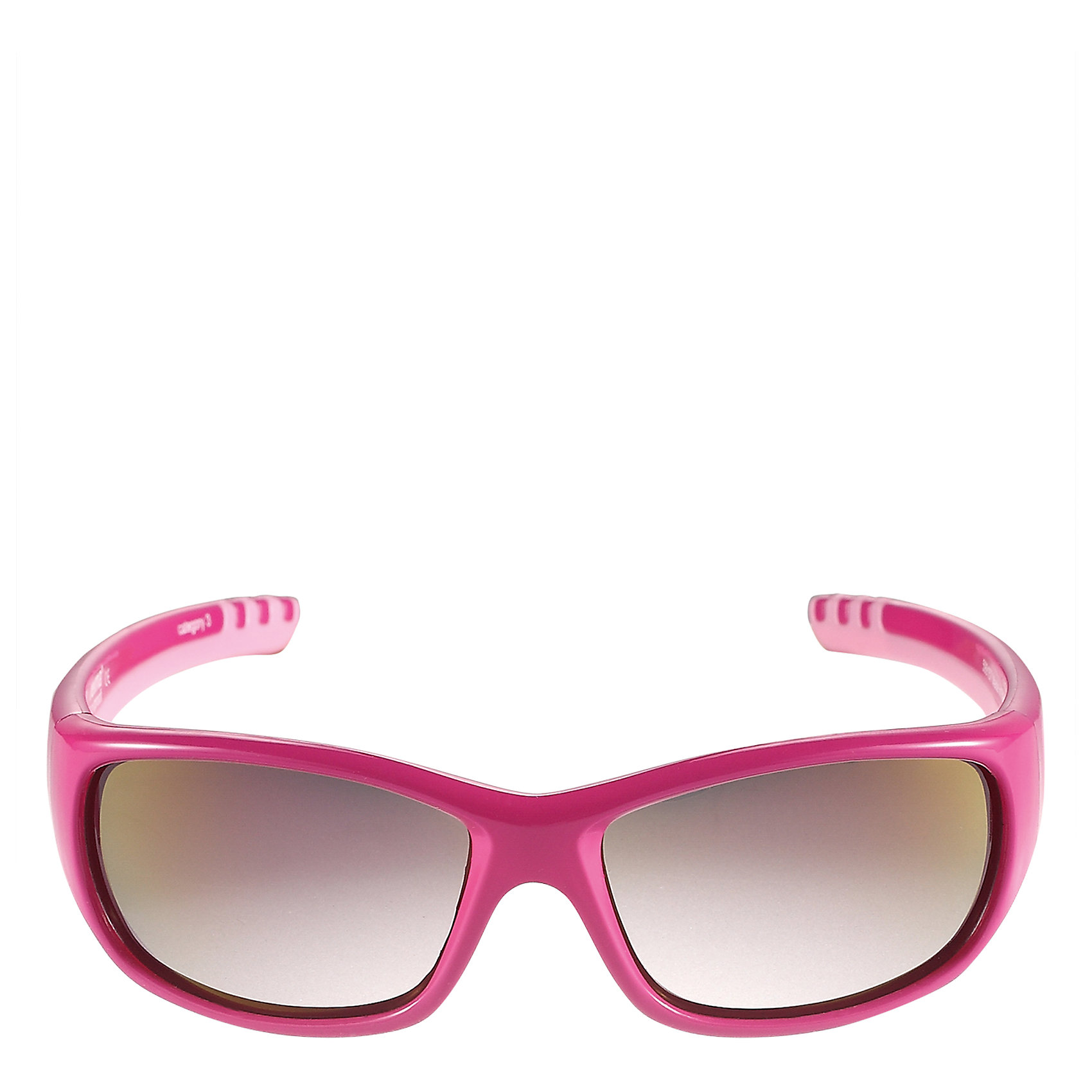 Солнцезащитные очки Sereno для девочки ReimaОдежда<br>Характеристики товара:<br><br>• цвет: фуксия<br>• состав: оправа - TPEE/TPR/TR90/Резина, линзы - PC<br>• рекомендовано для детей 4-6 лет<br>• 3 степень УФА + УФВ защиты<br>• поляризованные зеркальные линзы<br>• обработка противотуманным покрытием<br>• мягкая и эластичная оправа <br>• защитный чехол в комплекте<br>• европейский сертификат соответствия<br>• защита от ультрафиолетовых лучей спектра A и спектра B класса 5<br>• страна производства: Китай<br>• страна бренда: Финляндия<br>• коллекция: весна-лето 2017<br><br>Специальные очки помогут уберечь глаза детей от повреждения прямыми солнечными лучами. Эта модель разрабатывалась для малышей - у неё мягкая оправа с очень комфортной посадкой, зеркальные линзы со специальной обработкой, есть защитный чехол. Очки не только хорошо проработаны, они стильно смотрятся!<br><br>Обувь и одежда от финского бренда Reima пользуются популярностью во многих странах. Они стильные, качественные и удобные. Для производства продукции используются только безопасные, проверенные материалы и фурнитура.<br><br>Солнцезащитные очки для девочки от финского бренда Reima (Рейма) можно купить в нашем интернет-магазине.<br><br>Ширина мм: 170<br>Глубина мм: 157<br>Высота мм: 67<br>Вес г: 117<br>Цвет: лиловый<br>Возраст от месяцев: 48<br>Возраст до месяцев: 72<br>Пол: Женский<br>Возраст: Детский<br>Размер: one size<br>SKU: 5266126