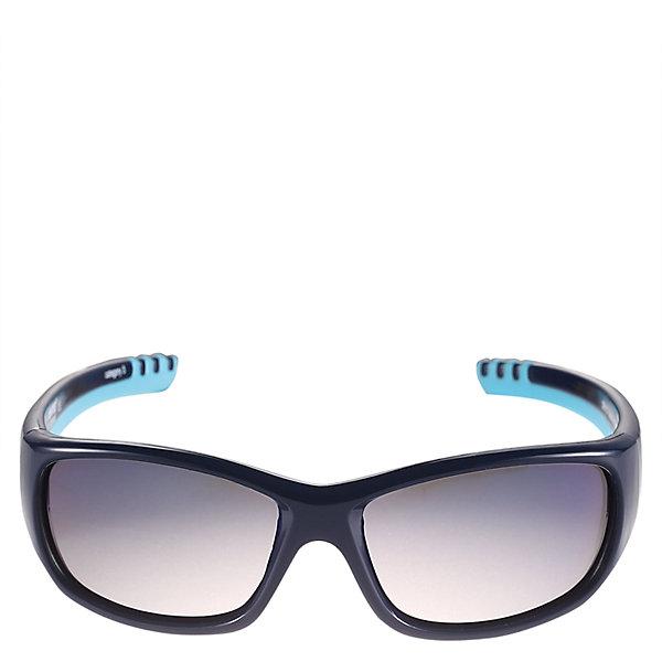Солнцезащитные очки Sereno Reima для мальчикаОдежда<br>Характеристики товара:<br><br>• цвет: синий<br>• состав: оправа - TPEE/TPR/TR90/Резина, линзы - PC<br>• рекомендовано для детей 4-6 лет<br>• 3 степень УФА + УФВ защиты<br>• поляризованные зеркальные линзы<br>• обработка противотуманным покрытием<br>• мягкая и эластичная оправа <br>• защитный чехол в комплекте<br>• европейский сертификат соответствия<br>• защита от ультрафиолетовых лучей спектра A и спектра B класса 5<br>• страна производства: Китай<br>• страна бренда: Финляндия<br>• коллекция: весна-лето 2017<br><br>Специальные очки помогут уберечь глаза детей от повреждения прямыми солнечными лучами. Эта модель разрабатывалась для малышей - у неё мягкая оправа с очень комфортной посадкой, зеркальные линзы со специальной обработкой, есть защитный чехол. Очки не только хорошо проработаны, они стильно смотрятся!<br><br>Обувь и одежда от финского бренда Reima пользуются популярностью во многих странах. Они стильные, качественные и удобные. Для производства продукции используются только безопасные, проверенные материалы и фурнитура.<br><br>Солнцезащитные очки для девочки от финского бренда Reima (Рейма) можно купить в нашем интернет-магазине.<br>-<br><br>Ширина мм: 170<br>Глубина мм: 157<br>Высота мм: 67<br>Вес г: 117<br>Цвет: синий<br>Возраст от месяцев: 48<br>Возраст до месяцев: 72<br>Пол: Мужской<br>Возраст: Детский<br>Размер: one size<br>SKU: 5266130