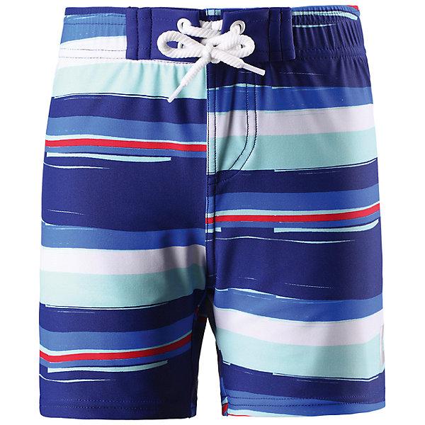 Шорты купальные Biitzi для мальчика ReimaКупальники и плавки<br>Характеристики товара:<br><br>• цвет: синий<br>• состав: 80% полиамид, 20% эластан<br>• фактор защиты от ультрафиолета: 50+<br>• для плавания и игр на пляже<br>• эластичная подкладка <br>• эластичный пояс<br>• декорированы принтом<br>• комфортная посадка<br>• страна производства: Китай<br>• страна бренда: Финляндия<br>• коллекция: весна-лето 2017<br><br>Одежда для купания может быть модной и комфортной одновременно! Удобные плавательные шорты SunProof помогут обеспечить ребенку комфорт - они не стесняют движения и обеспечивают защиту от ультрафиолета. Плавательные шорты сшиты из материала, который быстро сохнет. Модель стильно смотрится, отлично сочетается с различными головными уборами и обувью. Стильный дизайн разрабатывался специально для детей.<br><br>Одежда и обувь от финского бренда Reima пользуется популярностью во многих странах. Эти изделия стильные, качественные и удобные. Для производства продукции используются только безопасные, проверенные материалы и фурнитура. Порадуйте ребенка модными и красивыми вещами от Reima! <br><br>Шорты купальные для мальчика от финского бренда Reima (Рейма) можно купить в нашем интернет-магазине.<br><br>Ширина мм: 183<br>Глубина мм: 60<br>Высота мм: 135<br>Вес г: 119<br>Цвет: синий<br>Возраст от месяцев: 18<br>Возраст до месяцев: 24<br>Пол: Мужской<br>Возраст: Детский<br>Размер: 92,140,134,128,104,122,116,110,98<br>SKU: 5266567