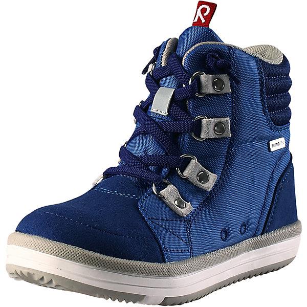 Ботинки Wetter Wash Reimatec® Reima для мальчикаОбувь<br>Характеристики товара:<br><br>• цвет: синий<br>• состав: верх - ПЭ/ПУ, подошва - термопластичная резина<br>• температурный режим: от +5°до +15°С<br>• застежка: шнуровка<br>• демисезонные<br>• устойчивая подошва<br>• светоотражающие детали<br>• съемные стельки с рисунком Happy Fit, помогающие определить размер<br>• светоотражающие детали<br>• с подкладкой из искусственного меха<br>• усиленная пятка и носок<br>• водонепроницаемая конструкция с герметичными вставками<br>• можно стирать в машине при температуре 30 °C<br>• страна производства: Китай<br>• страна бренда: Финляндия<br>• коллекция: весна-лето 2017<br><br>Детская демисезонная обувь может быть модной и комфортной одновременно! Удобные стильные ботинки помогут обеспечить ребенку комфорт и дополнить наряд. Они отлично смотрятся с различной одеждой. Ботинки Reimatec® удобно сидят на ноге и аккуратно смотрятся. Легко чистятся и долго служат. Продуманная конструкция разрабатывалась специально для детей.<br><br>Одежда и обувь от финского бренда Reima пользуется популярностью во многих странах. Эти изделия стильные, качественные и удобные. Для производства продукции используются только безопасные, проверенные материалы и фурнитура. Порадуйте ребенка модными и красивыми вещами от Reima! <br><br>Ботинки Reimatec® от финского бренда Reima (Рейма) можно купить в нашем интернет-магазине.<br><br>Ширина мм: 262<br>Глубина мм: 176<br>Высота мм: 97<br>Вес г: 427<br>Цвет: синий<br>Возраст от месяцев: 72<br>Возраст до месяцев: 84<br>Пол: Мужской<br>Возраст: Детский<br>Размер: 30,24,35,37,29,36,32,34,33,28,27,31,26,38,25<br>SKU: 5267197